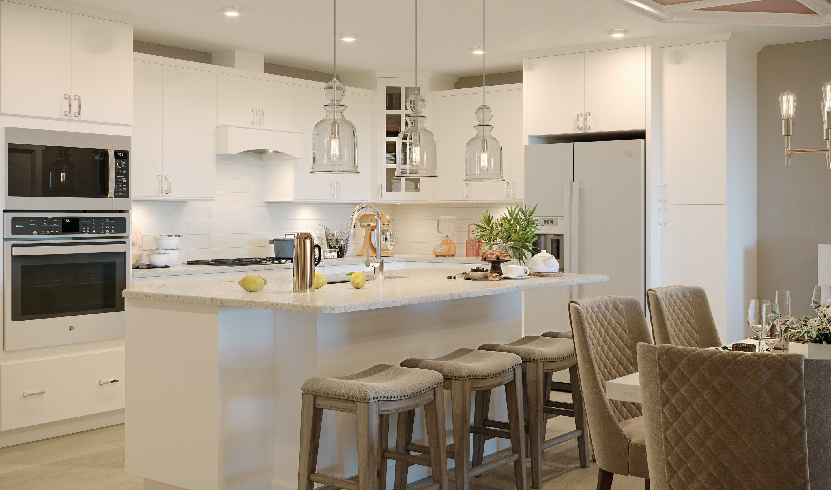 Kitchen featured in the Chester By K. Hovnanian's® Four Seasons in Eastern Shore, MD