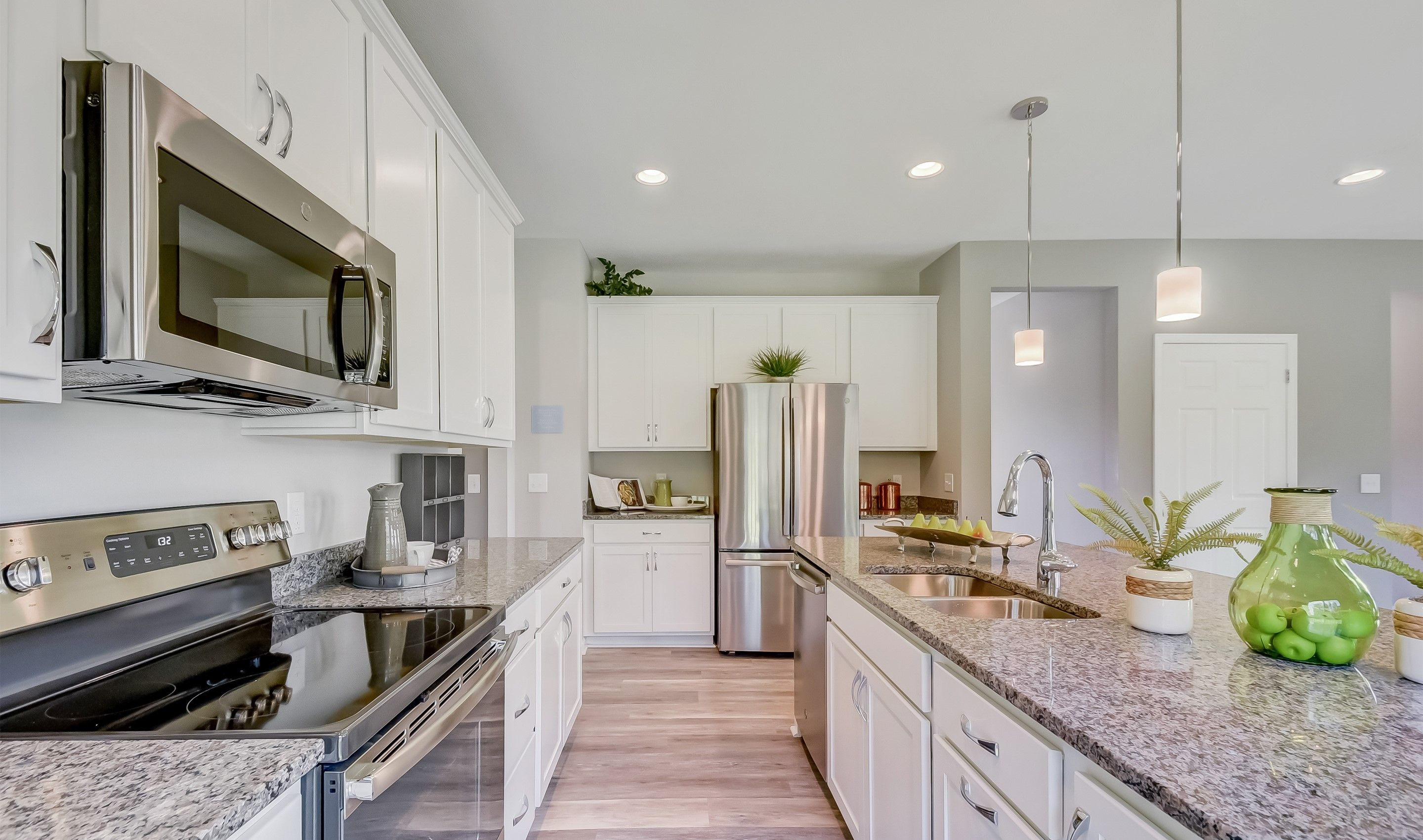 Kitchen featured in the Henderson By K. Hovnanian® Homes in Cleveland, OH
