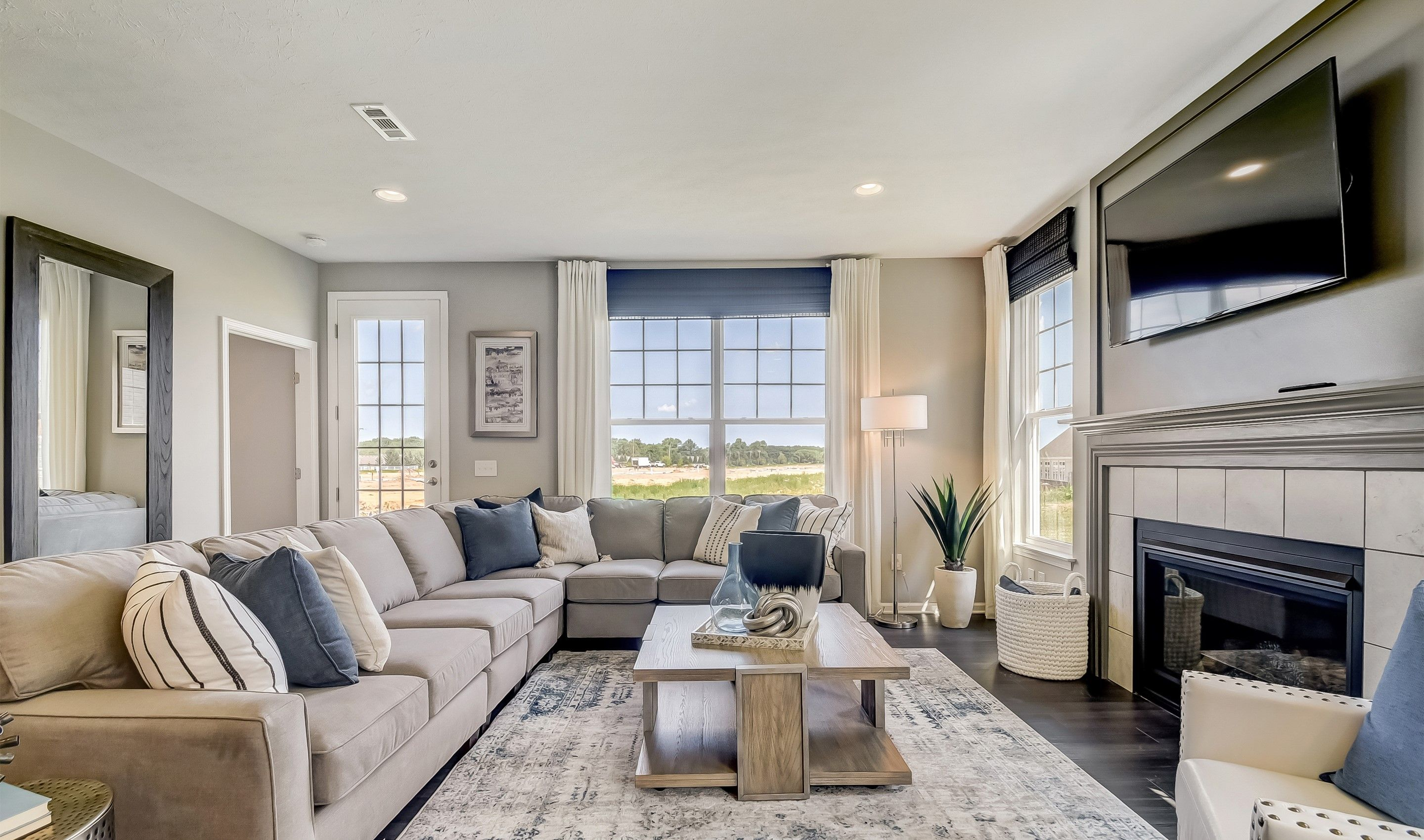 Living Area featured in the Monterey II By K. Hovnanian's® Four Seasons in Cleveland, OH