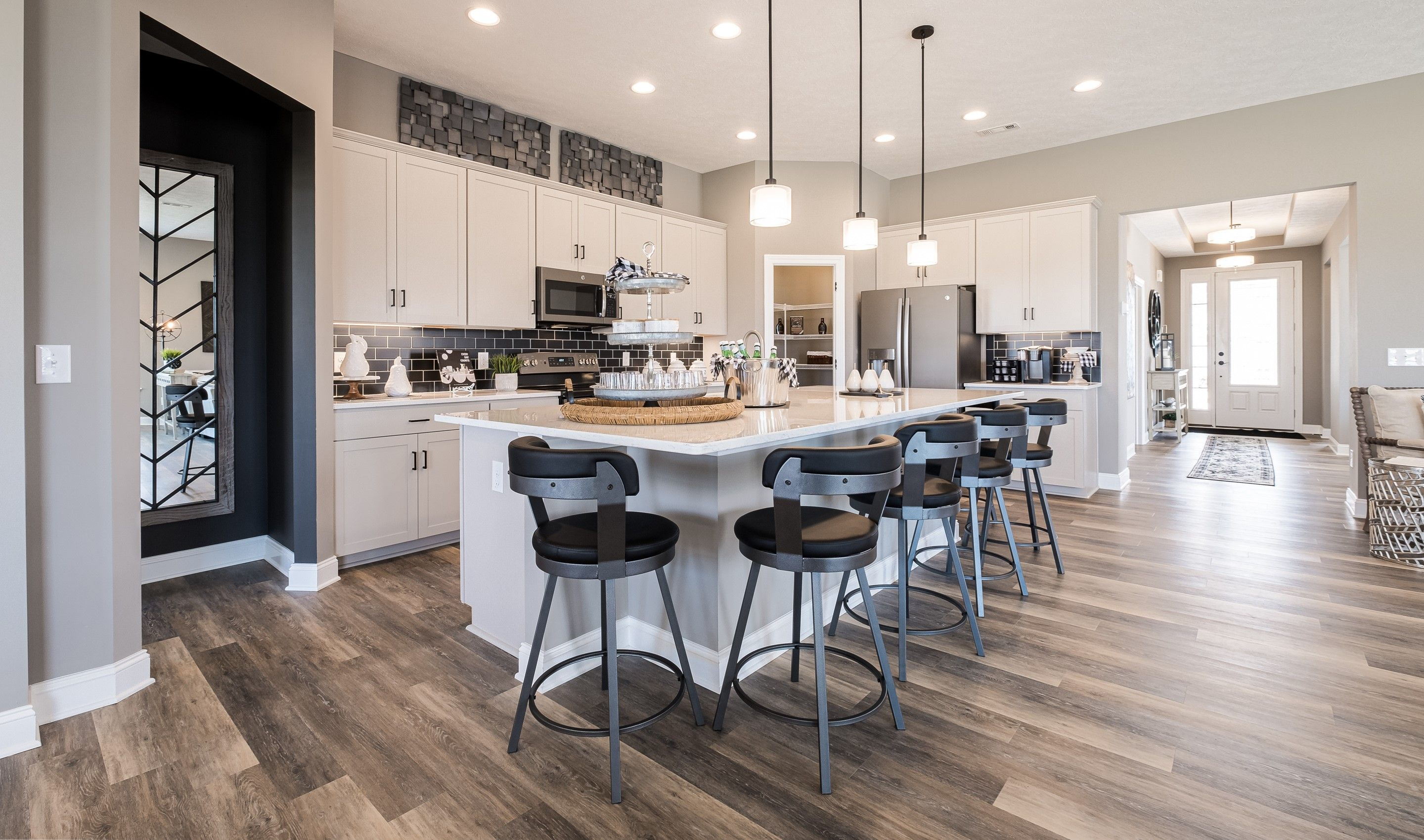 Kitchen featured in the Killarney By K. Hovnanian's® Four Seasons in Cleveland, OH