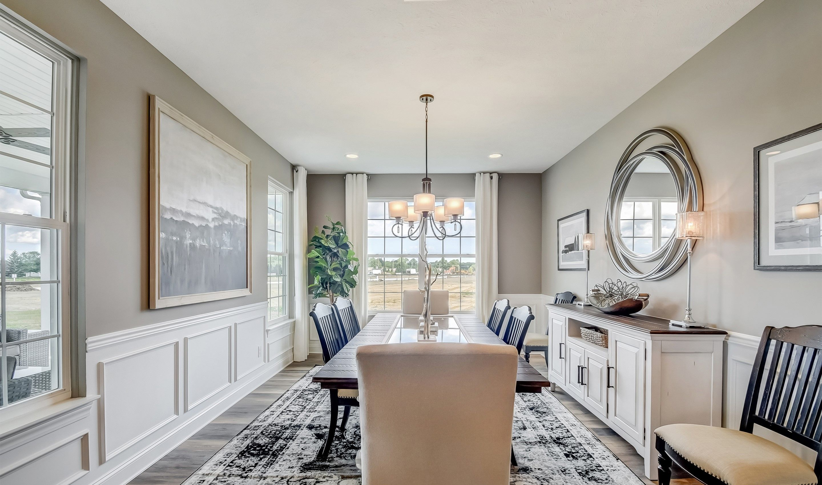 Living Area featured in the Killarney By K. Hovnanian's® Four Seasons in Cleveland, OH