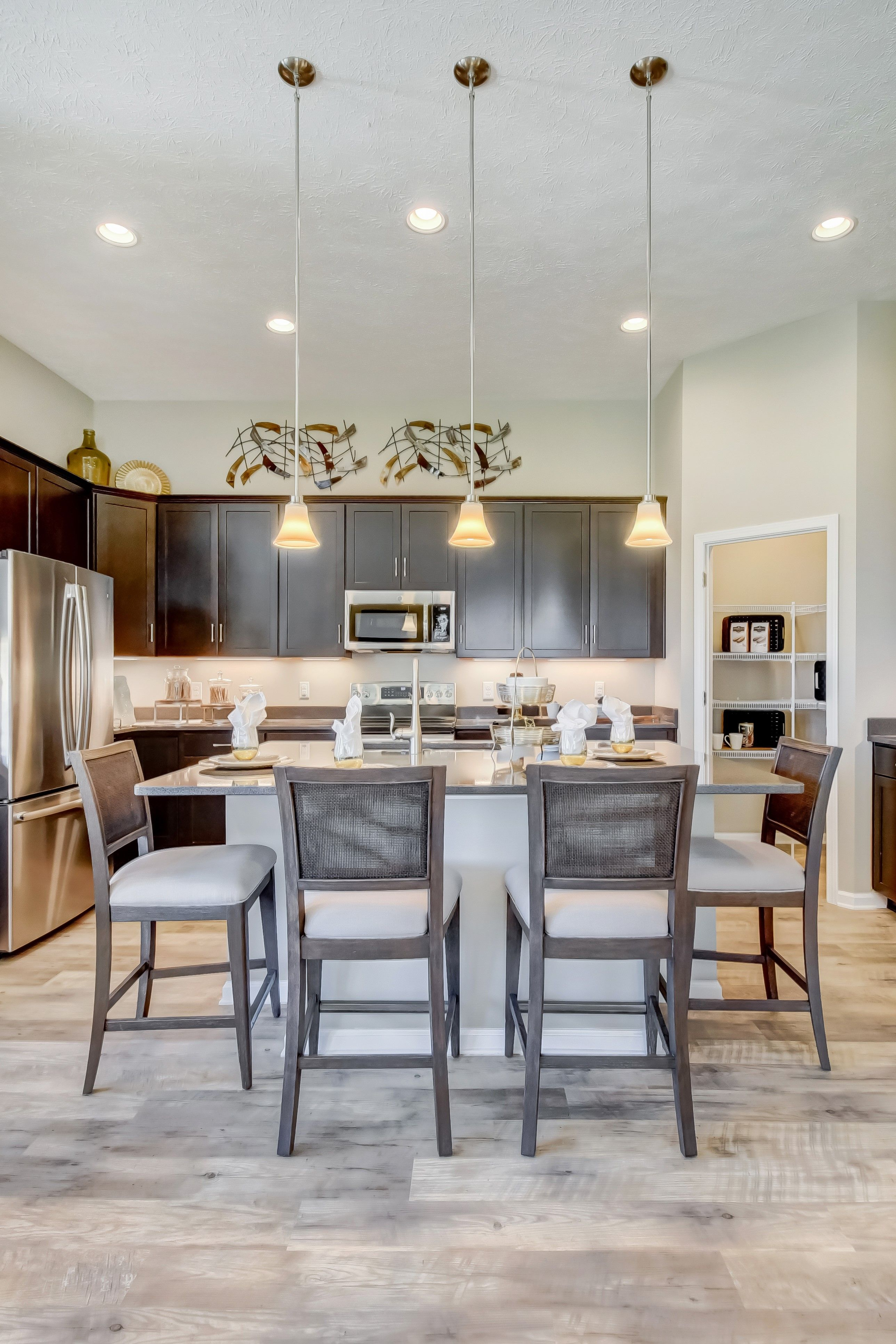 Kitchen featured in the Barclay By K. Hovnanian's® Four Seasons in Cleveland, OH