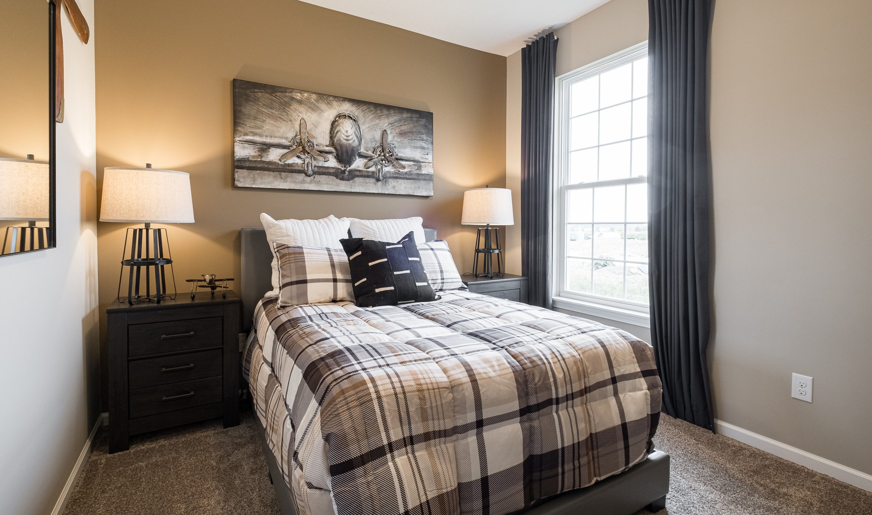 Bedroom featured in the Barclay By K. Hovnanian's® Four Seasons in Cleveland, OH