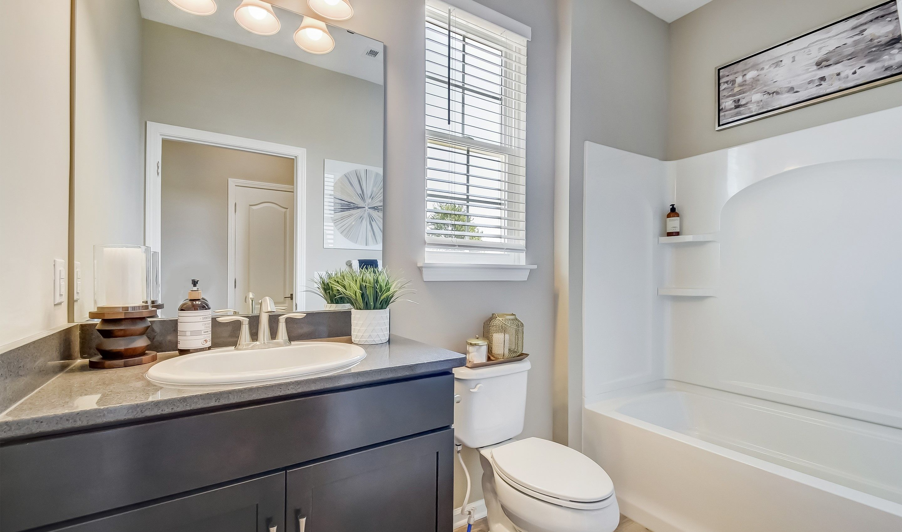 Bathroom featured in the Barclay By K. Hovnanian's® Four Seasons in Cleveland, OH