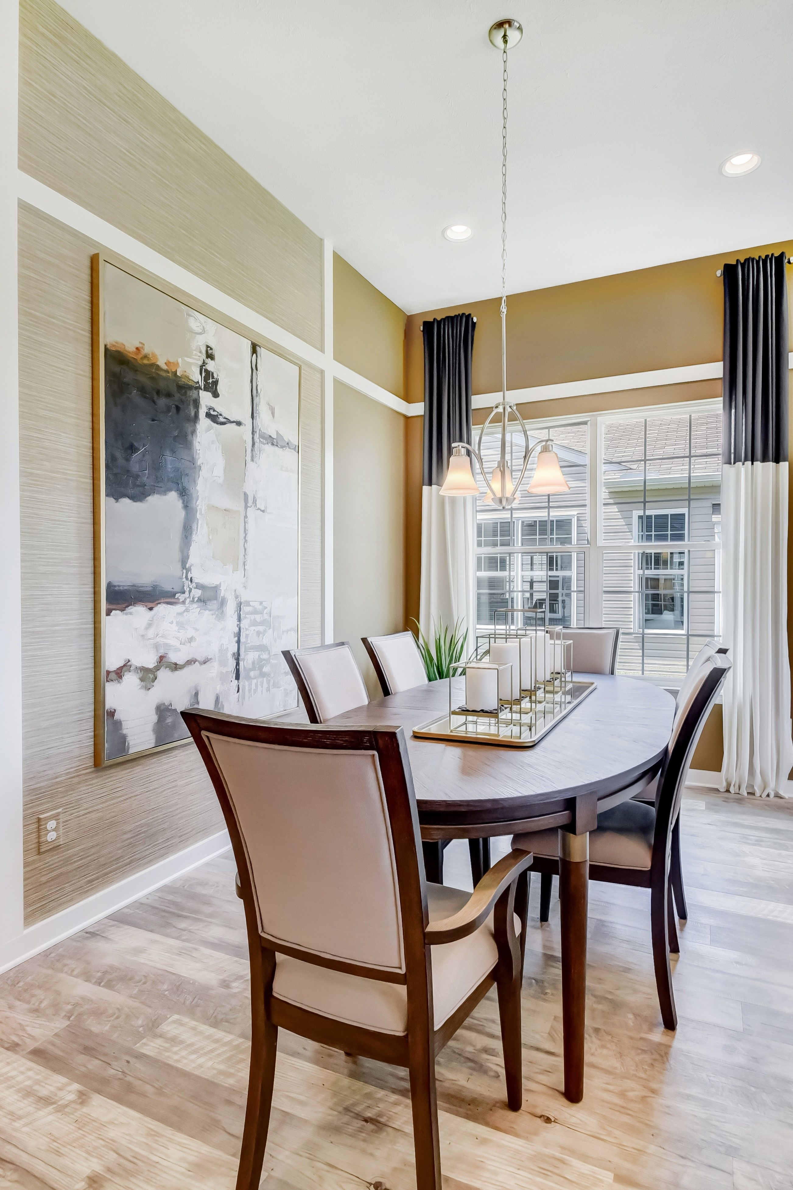 Living Area featured in the Barclay By K. Hovnanian's® Four Seasons in Cleveland, OH