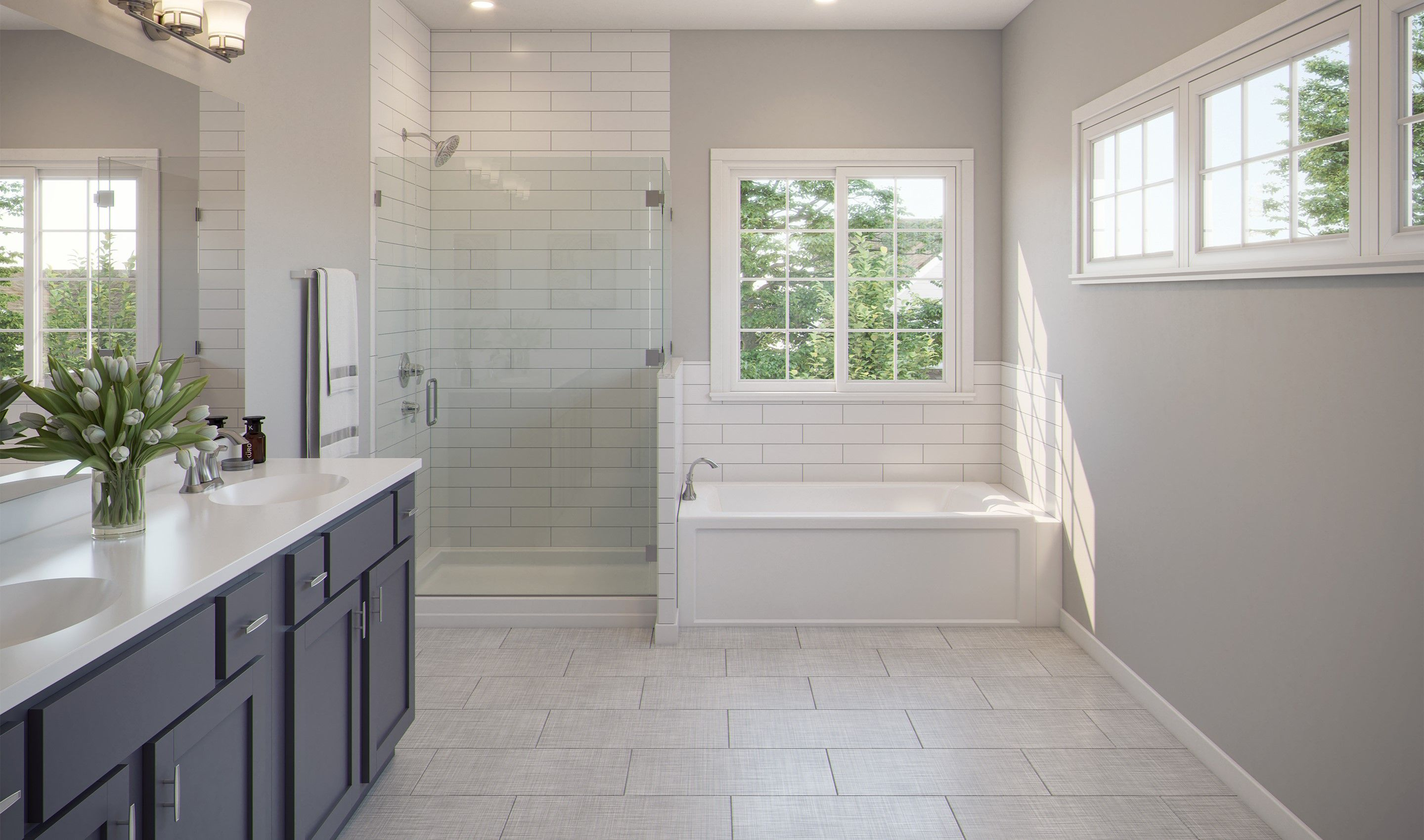 Bathroom featured in the Bradie By K. Hovnanian® Homes in Chicago, IL