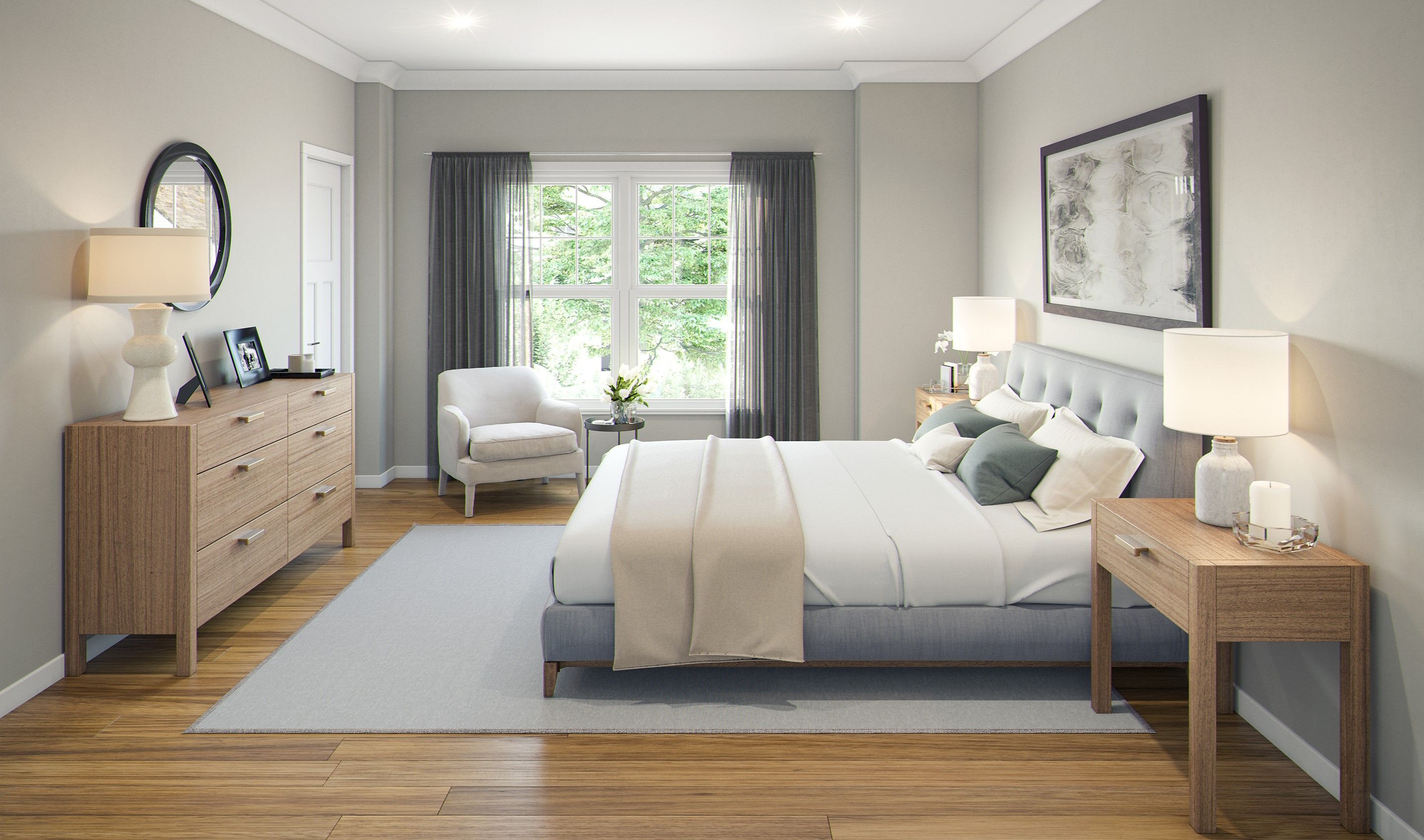 Bedroom featured in the Emmerich By K. Hovnanian® Homes in Chicago, IL