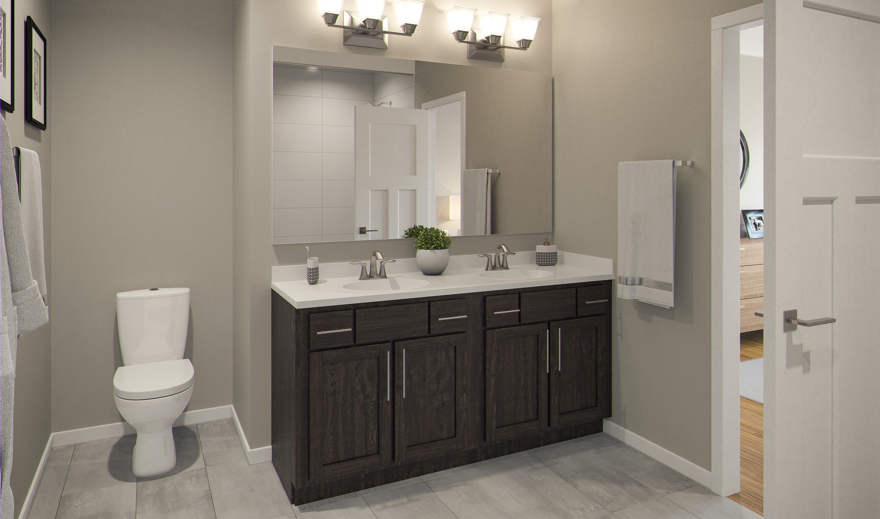 Bathroom featured in the Emmerich By K. Hovnanian® Homes in Chicago, IL
