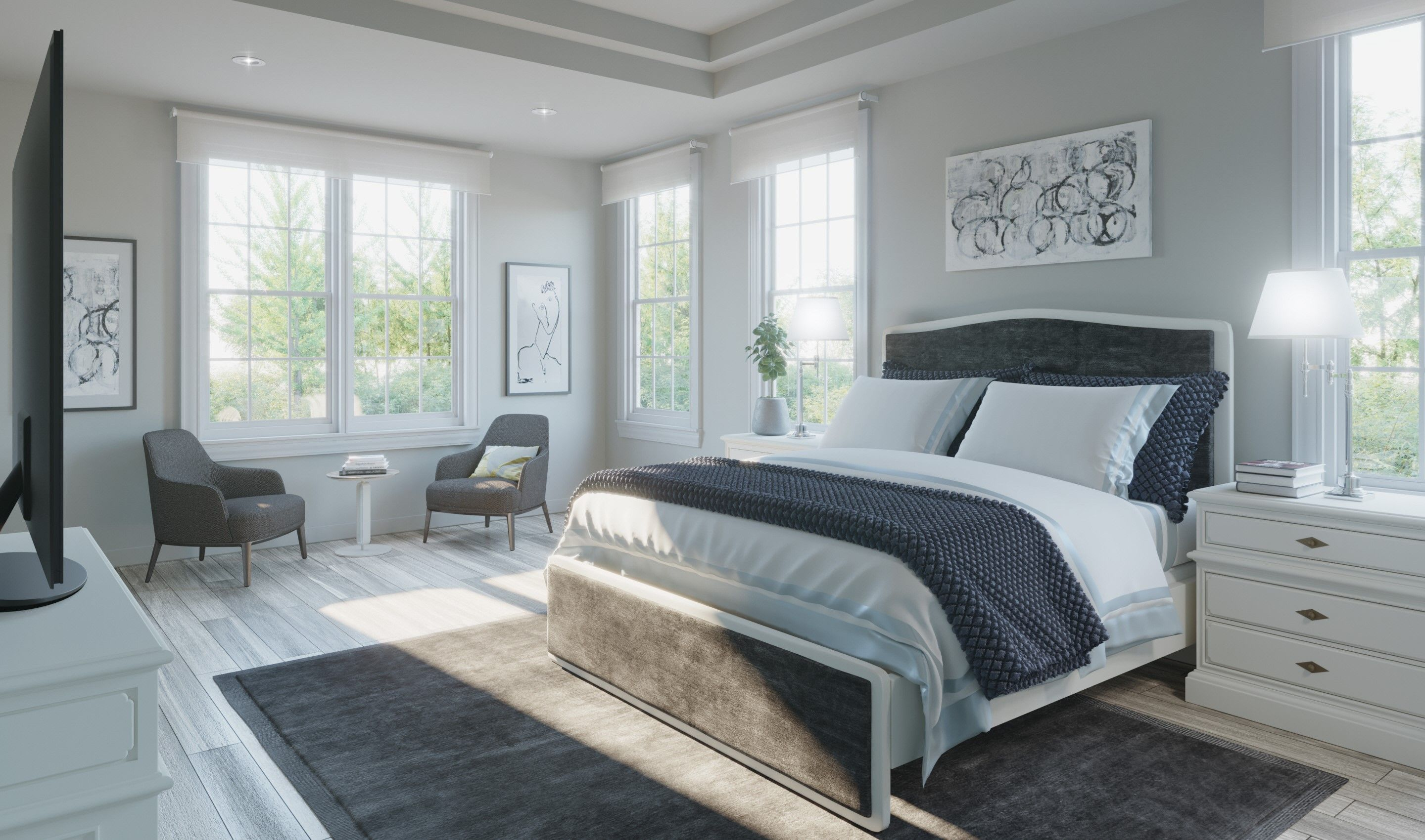 Bedroom featured in the Peterson By K. Hovnanian® Homes in Chicago, IL