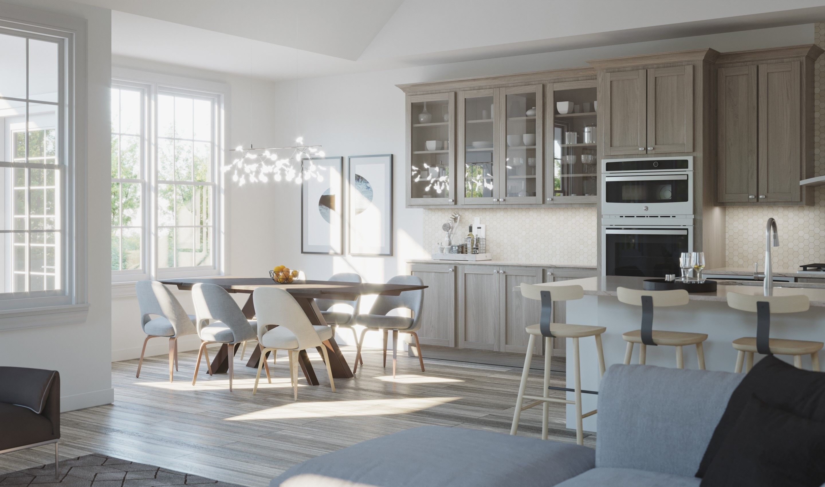 Kitchen featured in the Peterson By K. Hovnanian® Homes in Chicago, IL