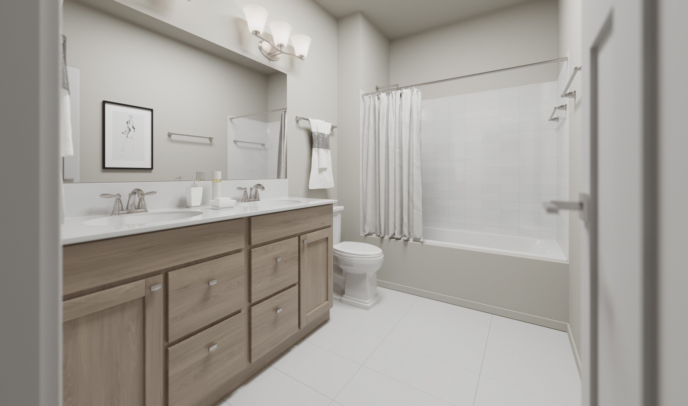 Bathroom featured in the Peterson By K. Hovnanian® Homes in Chicago, IL