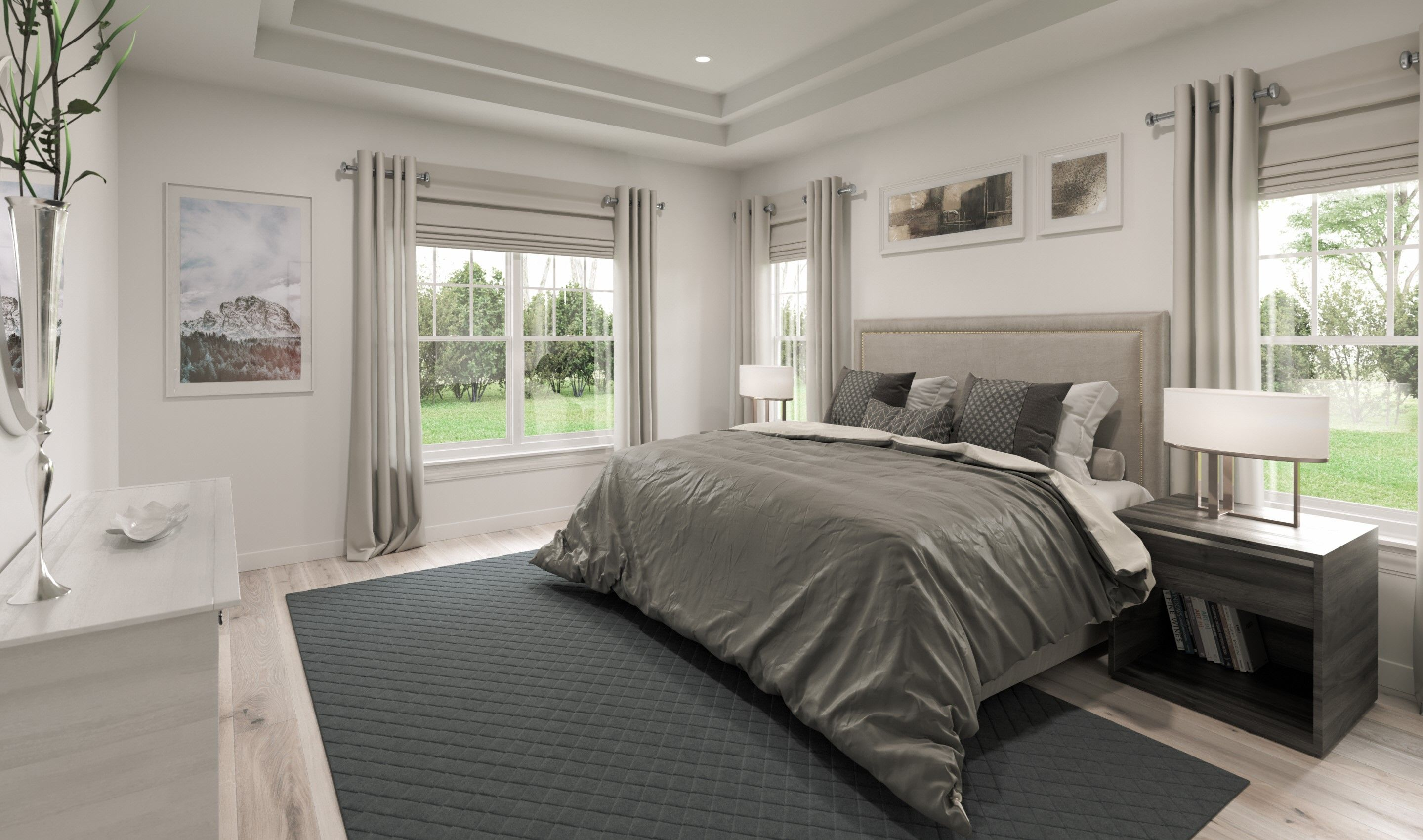 Bedroom featured in the Simon Loft By K. Hovnanian® Homes in Chicago, IL