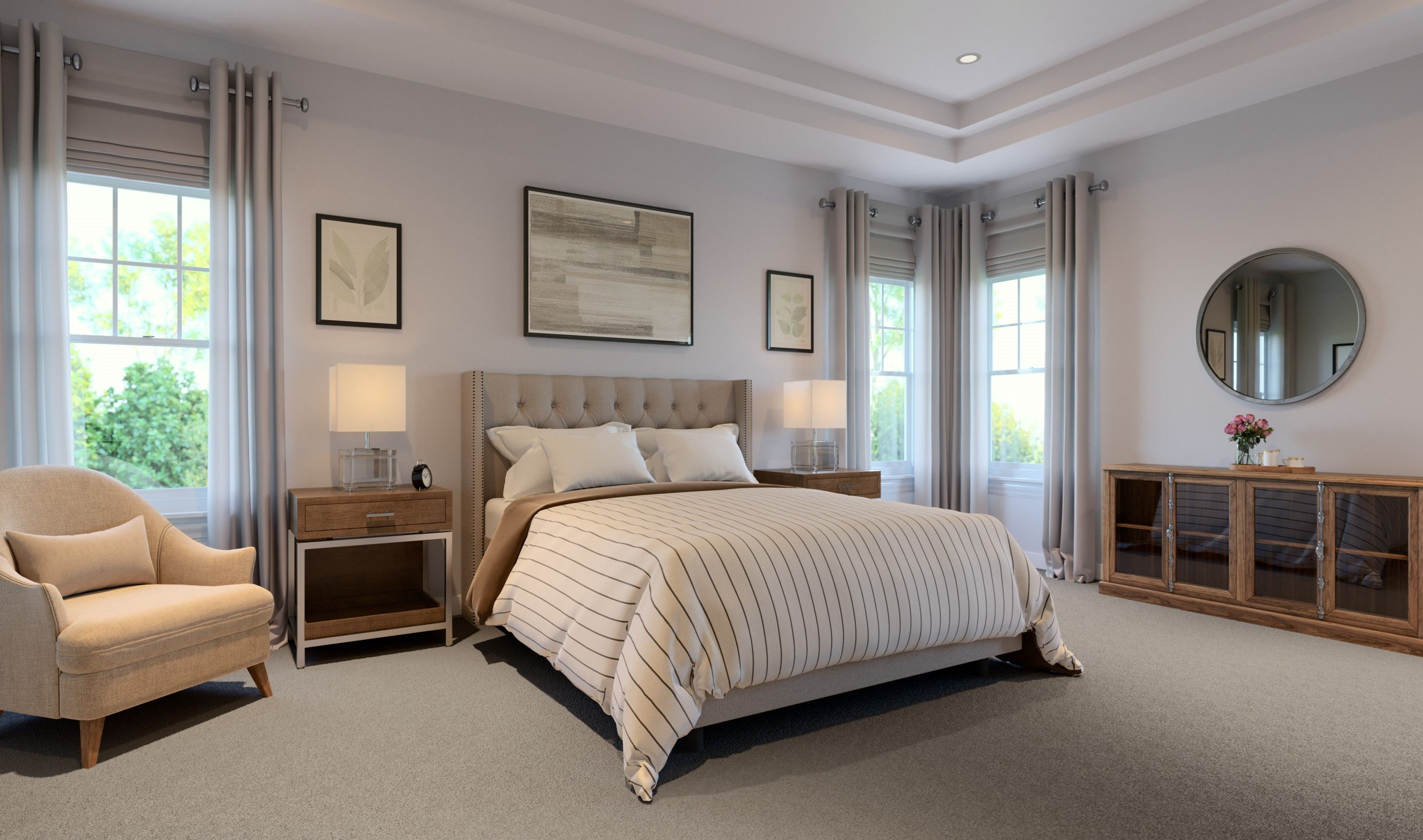 Bedroom featured in the Ruskin By K. Hovnanian® Homes in Chicago, IL