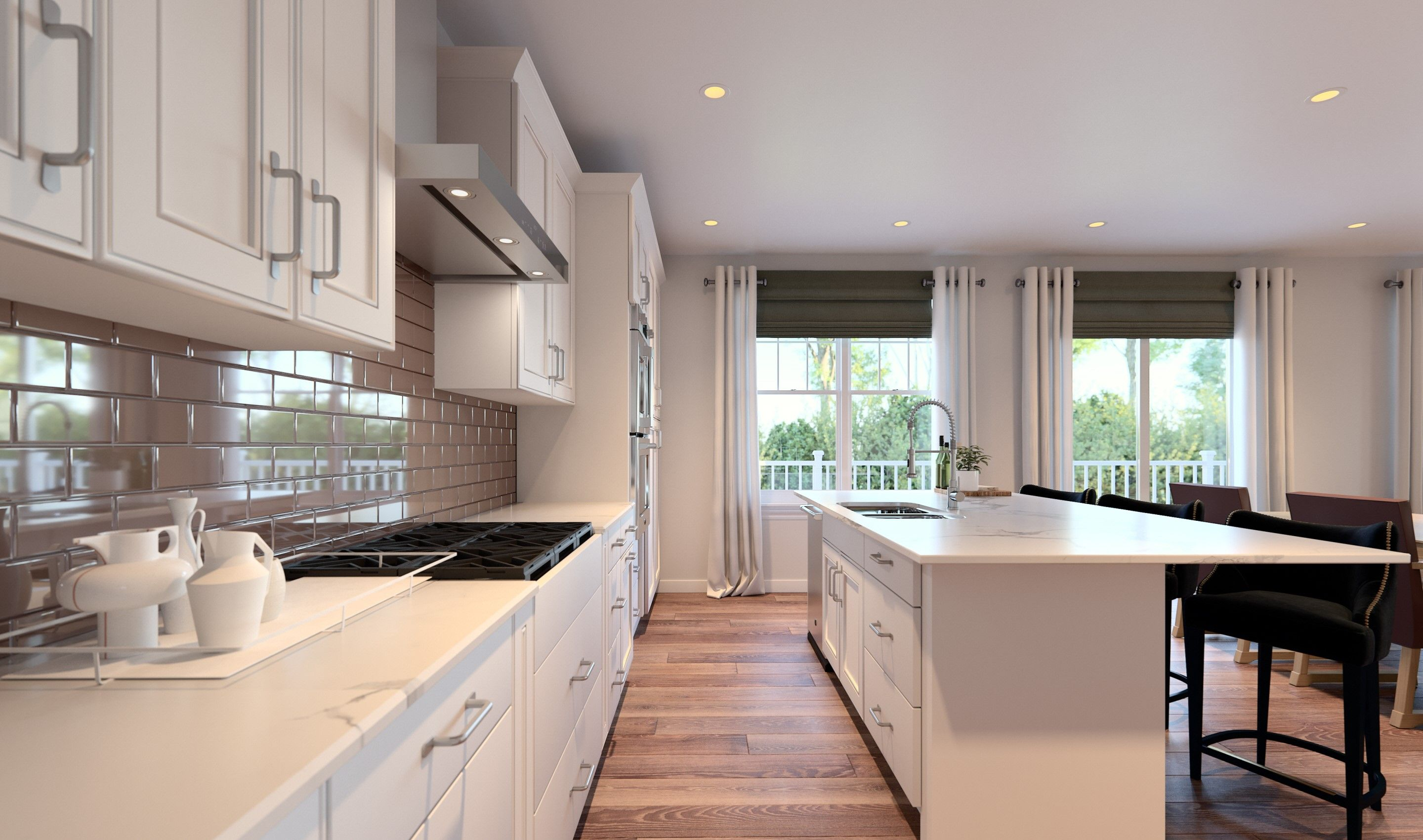 Kitchen featured in the Ruskin By K. Hovnanian® Homes in Chicago, IL