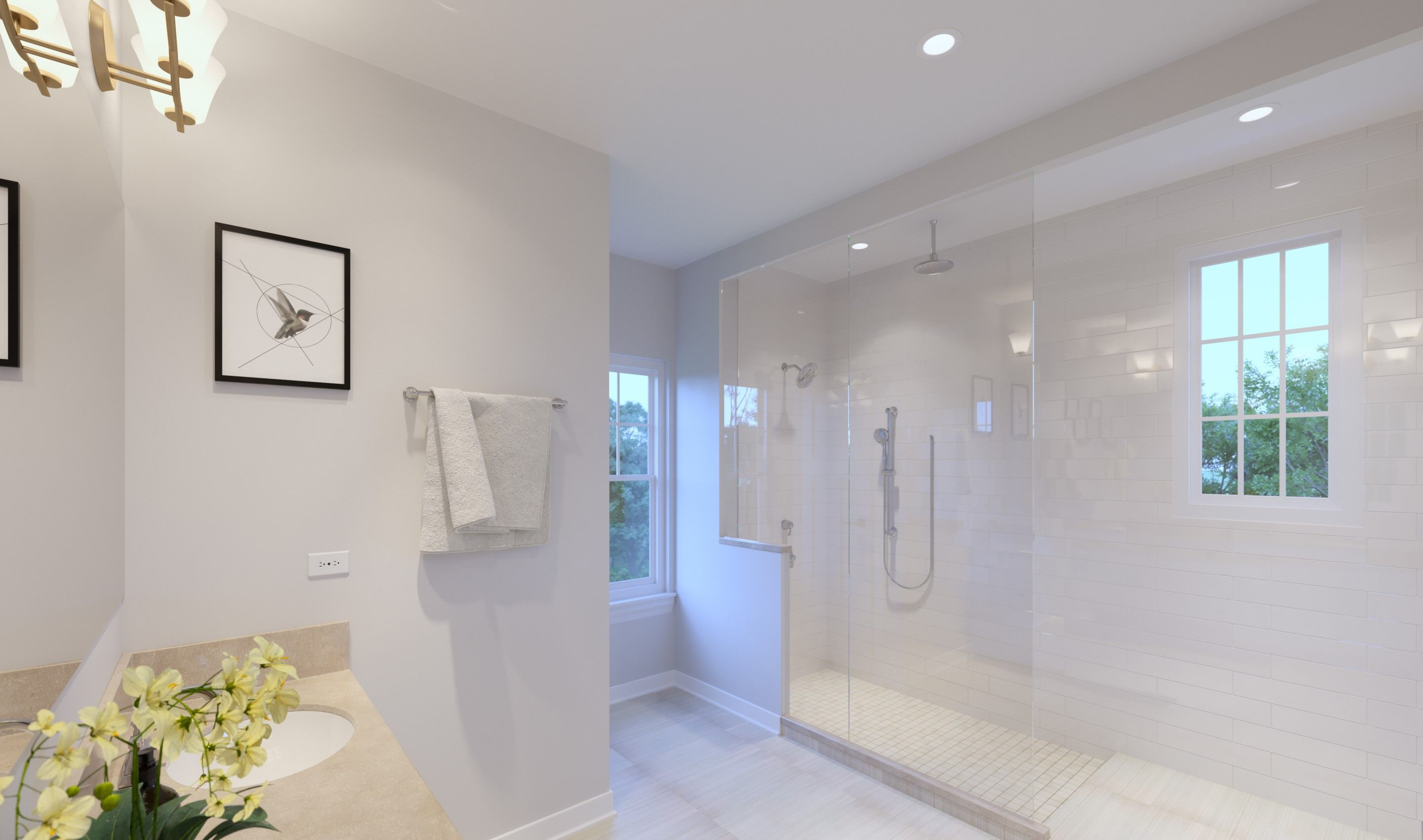Bathroom featured in the Ruskin By K. Hovnanian® Homes in Chicago, IL