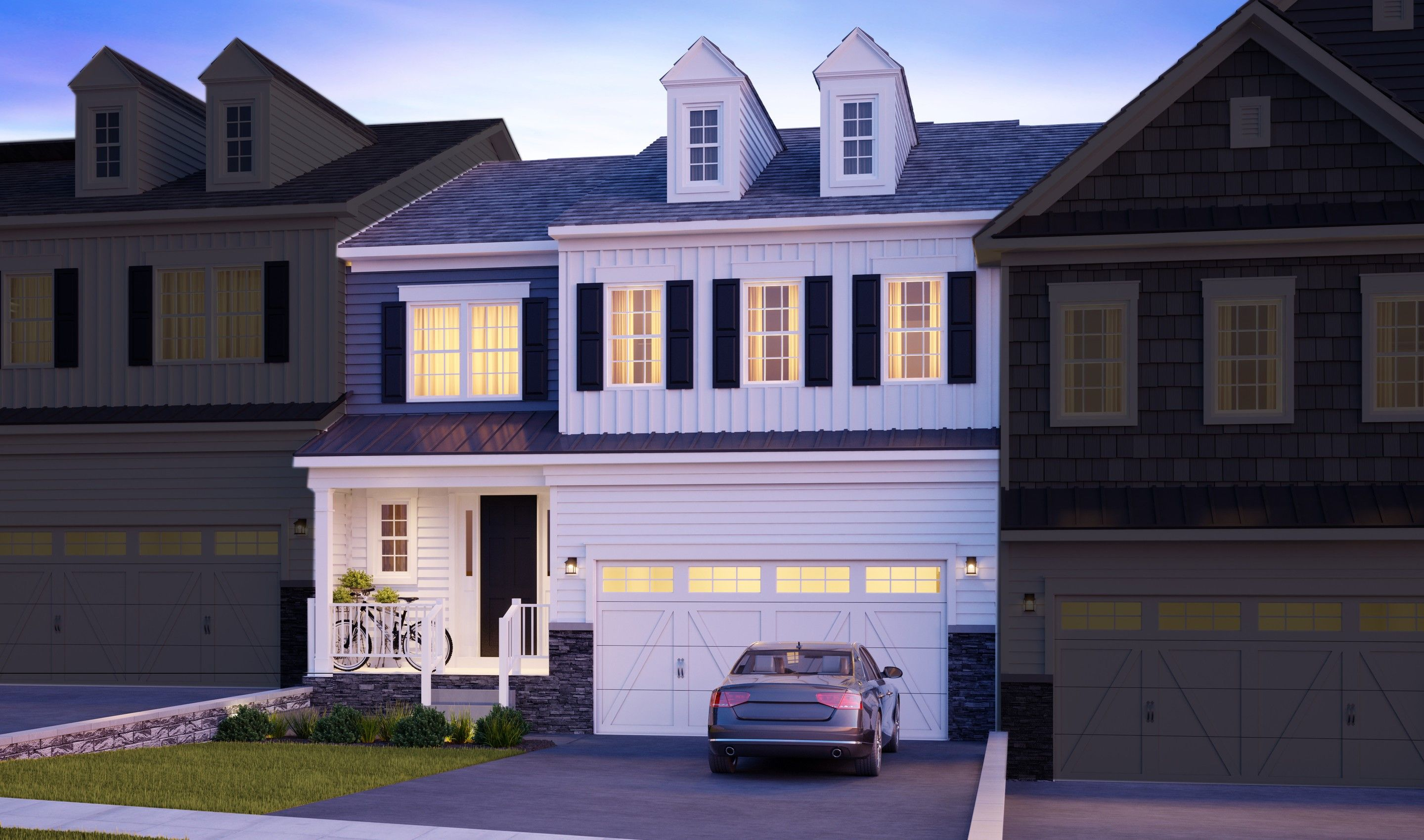 Exterior featured in the Pratt By K. Hovnanian® Homes in Essex County, NJ