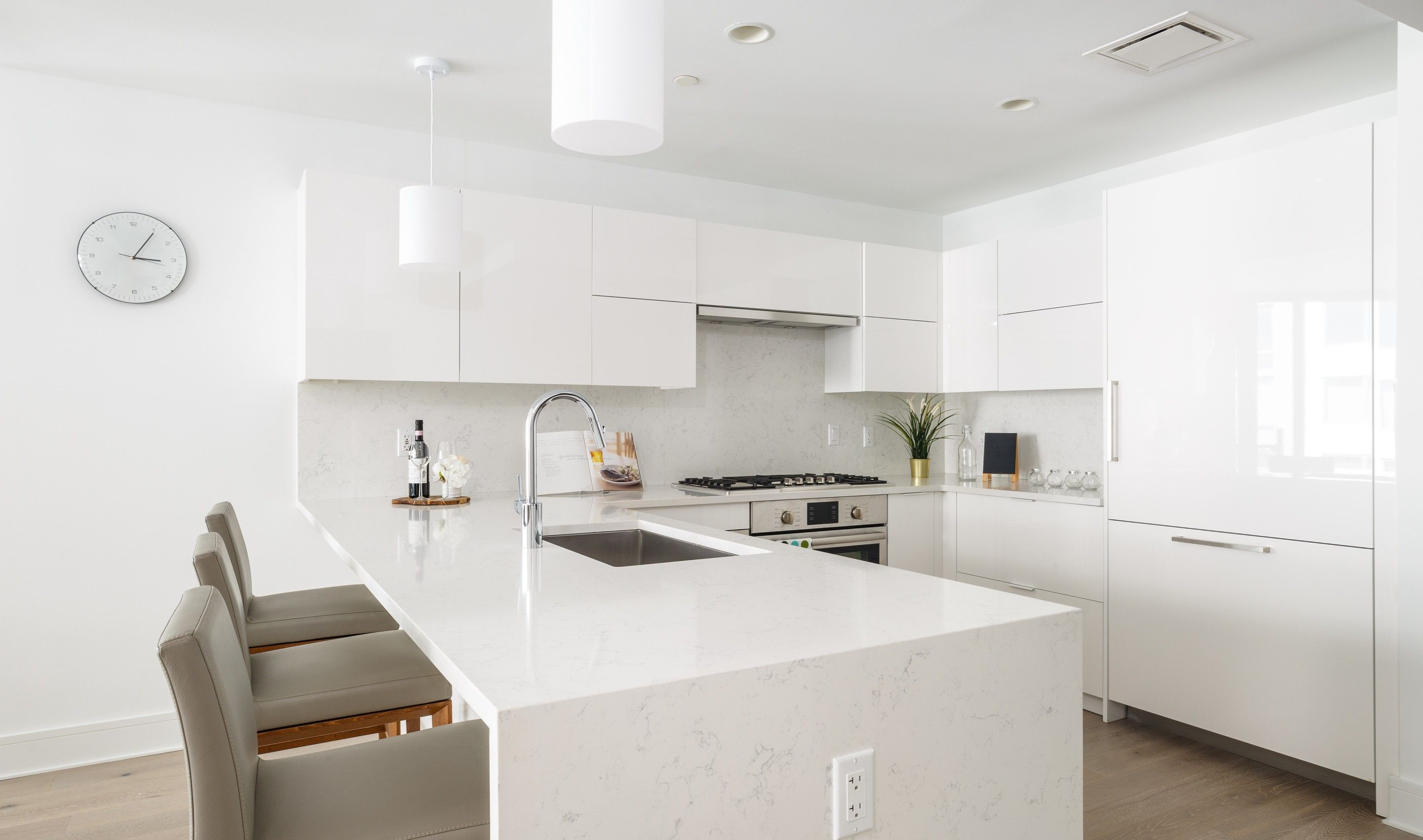 Kitchen featured in the B10 By K. Hovnanian® Homes in Hudson County, NJ