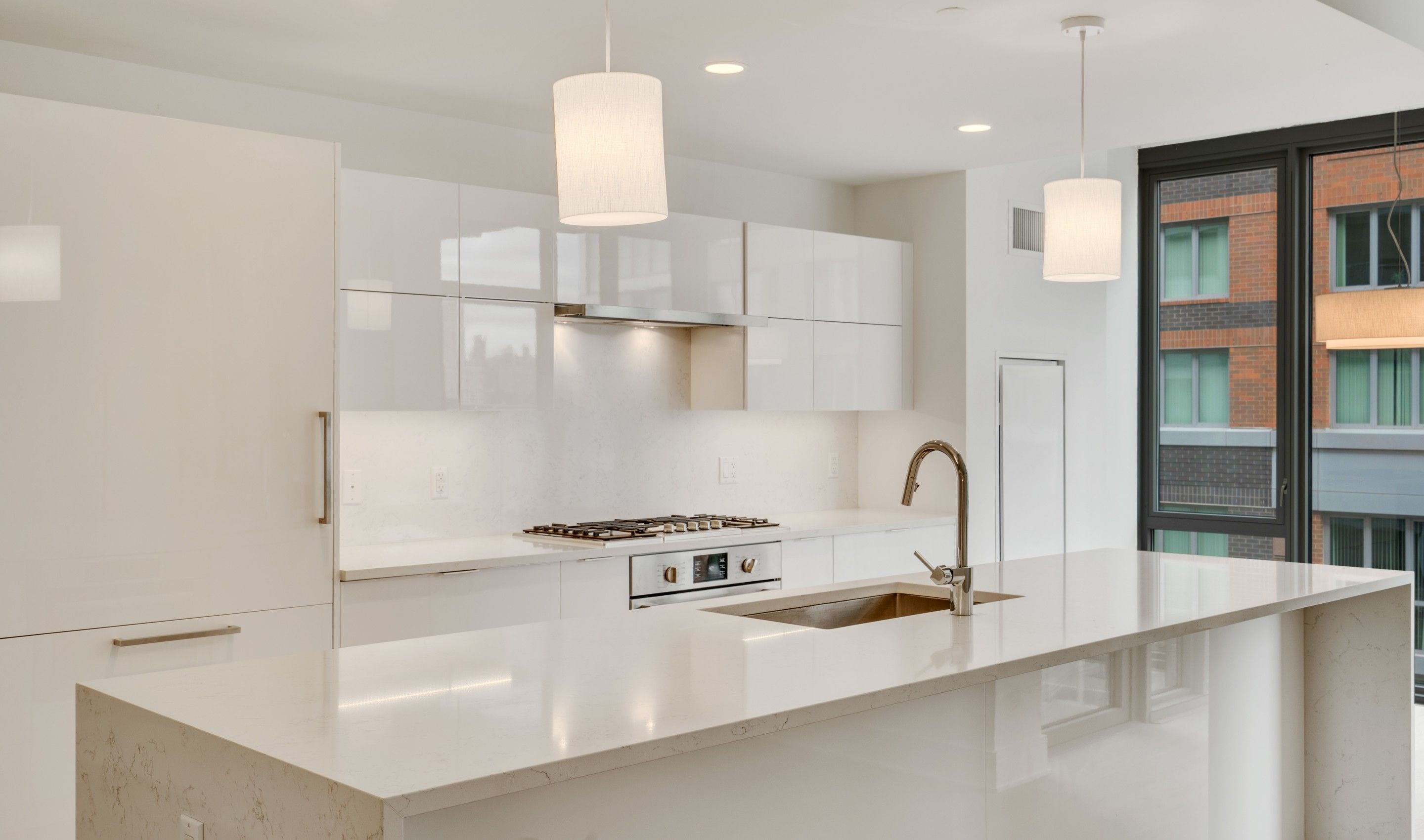Kitchen featured in the C2 By K. Hovnanian® Homes in Hudson County, NJ