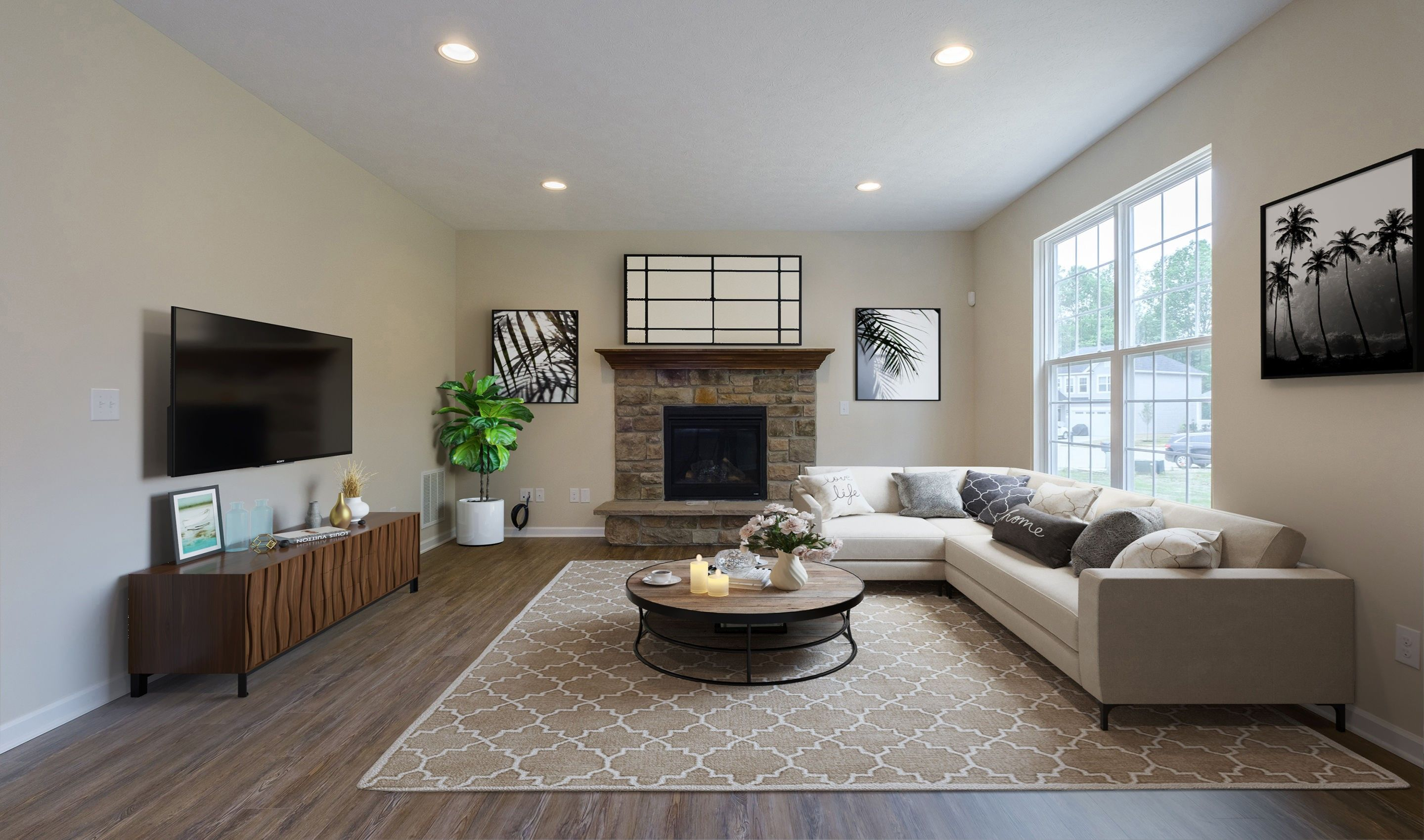Living Area featured in the Brantwood By K. Hovnanian® Homes in Cleveland, OH