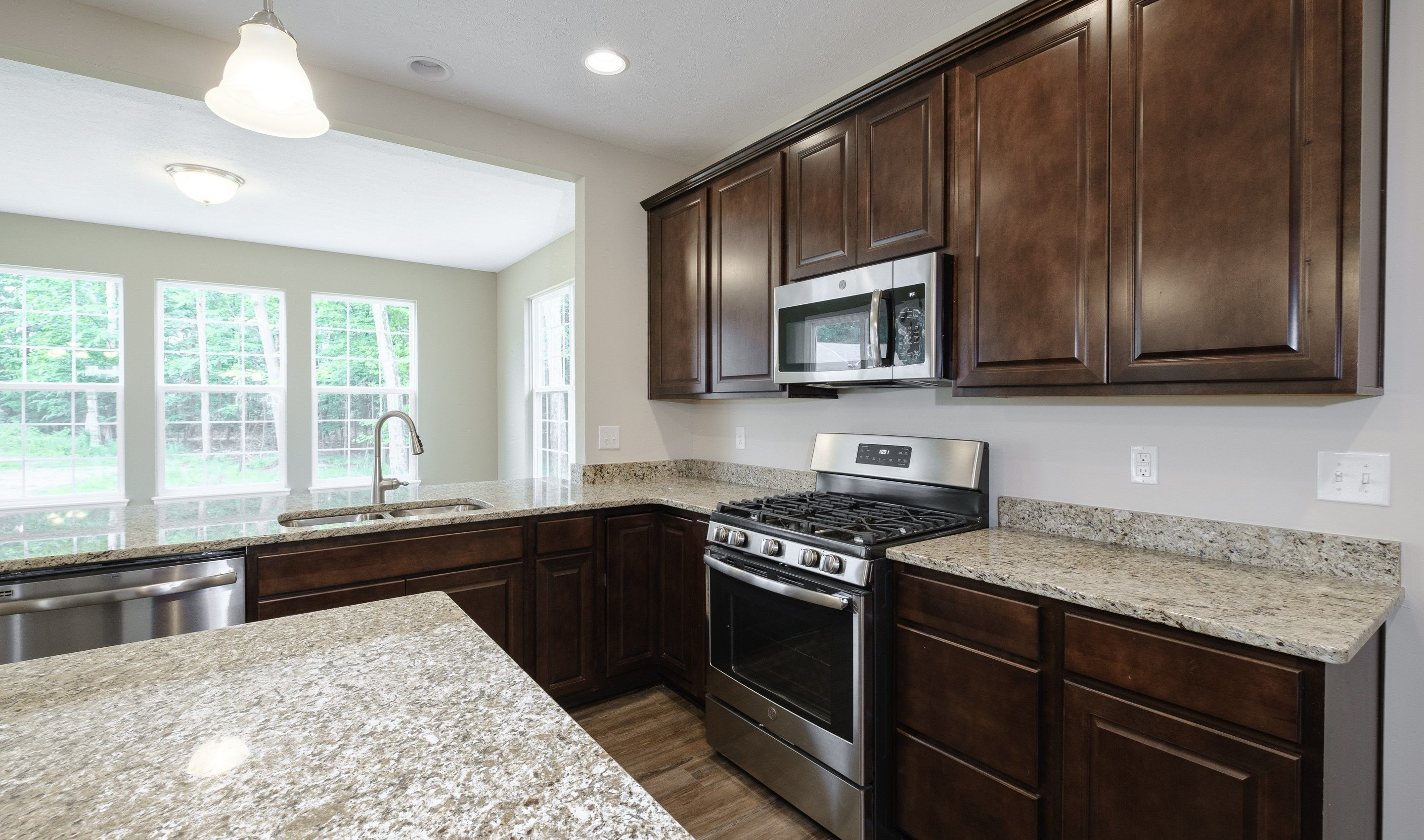 Kitchen featured in the Brantwood By K. Hovnanian® Homes in Cleveland, OH