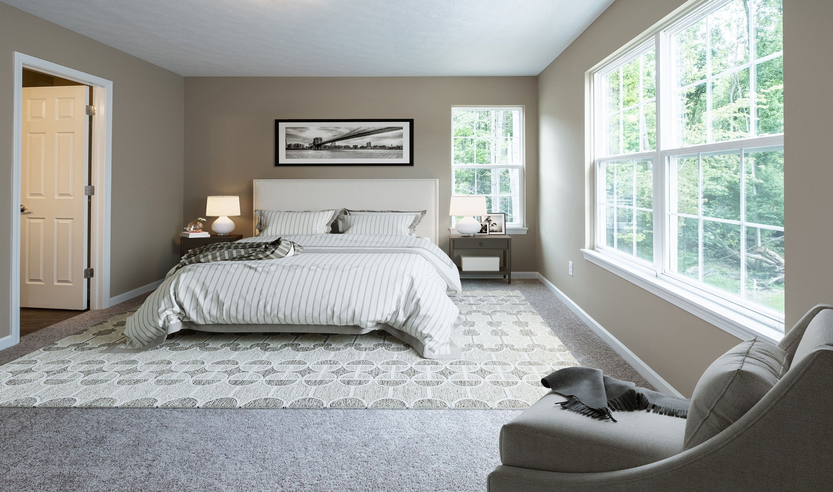 Bedroom featured in the Brantwood By K. Hovnanian® Homes in Cleveland, OH