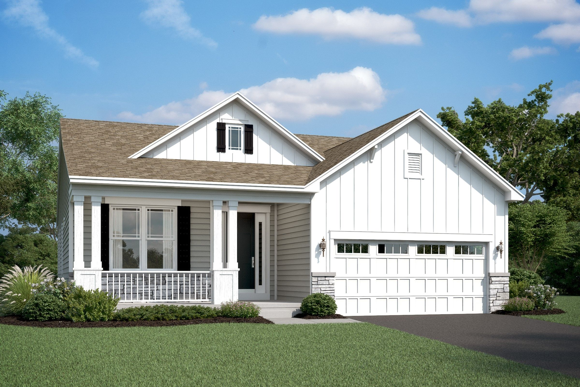 Exterior featured in the Eastwood By K. Hovnanian's® Four Seasons in Sussex, DE