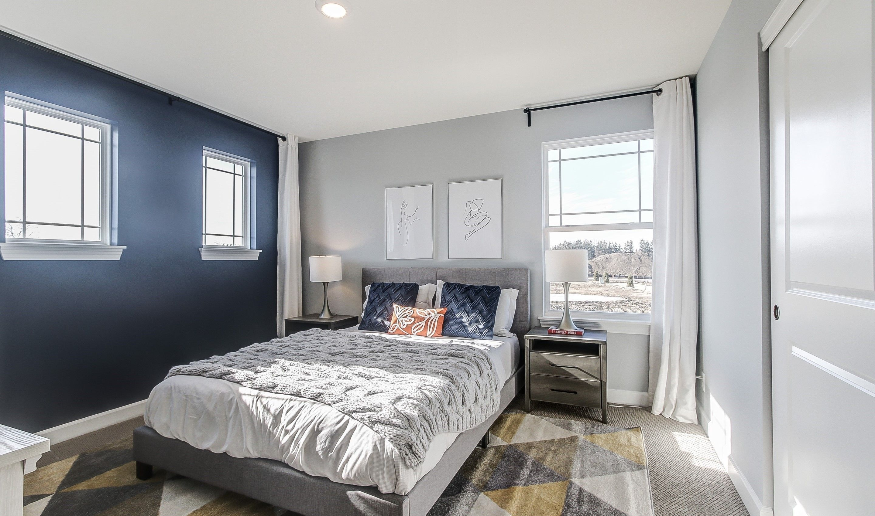Bedroom featured in the Henley II By K. Hovnanian® Homes in Chicago, IL