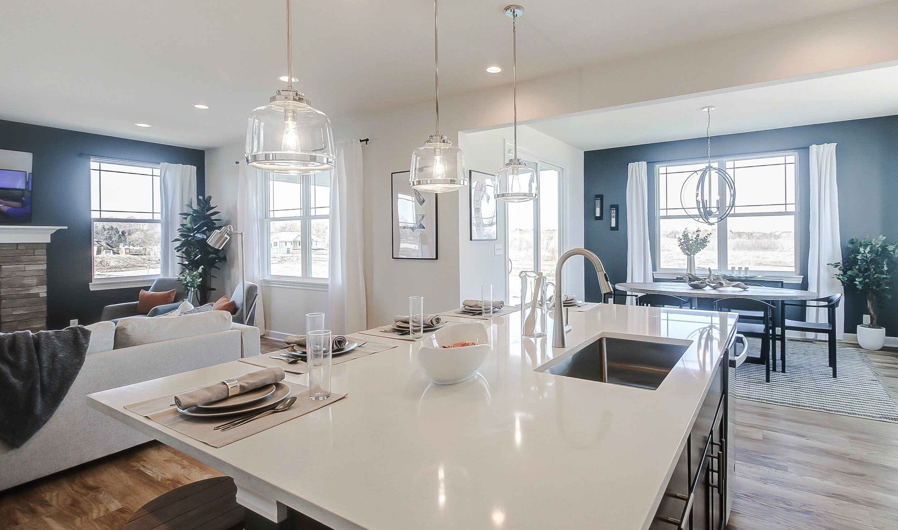 Kitchen featured in the Henley II By K. Hovnanian® Homes in Chicago, IL