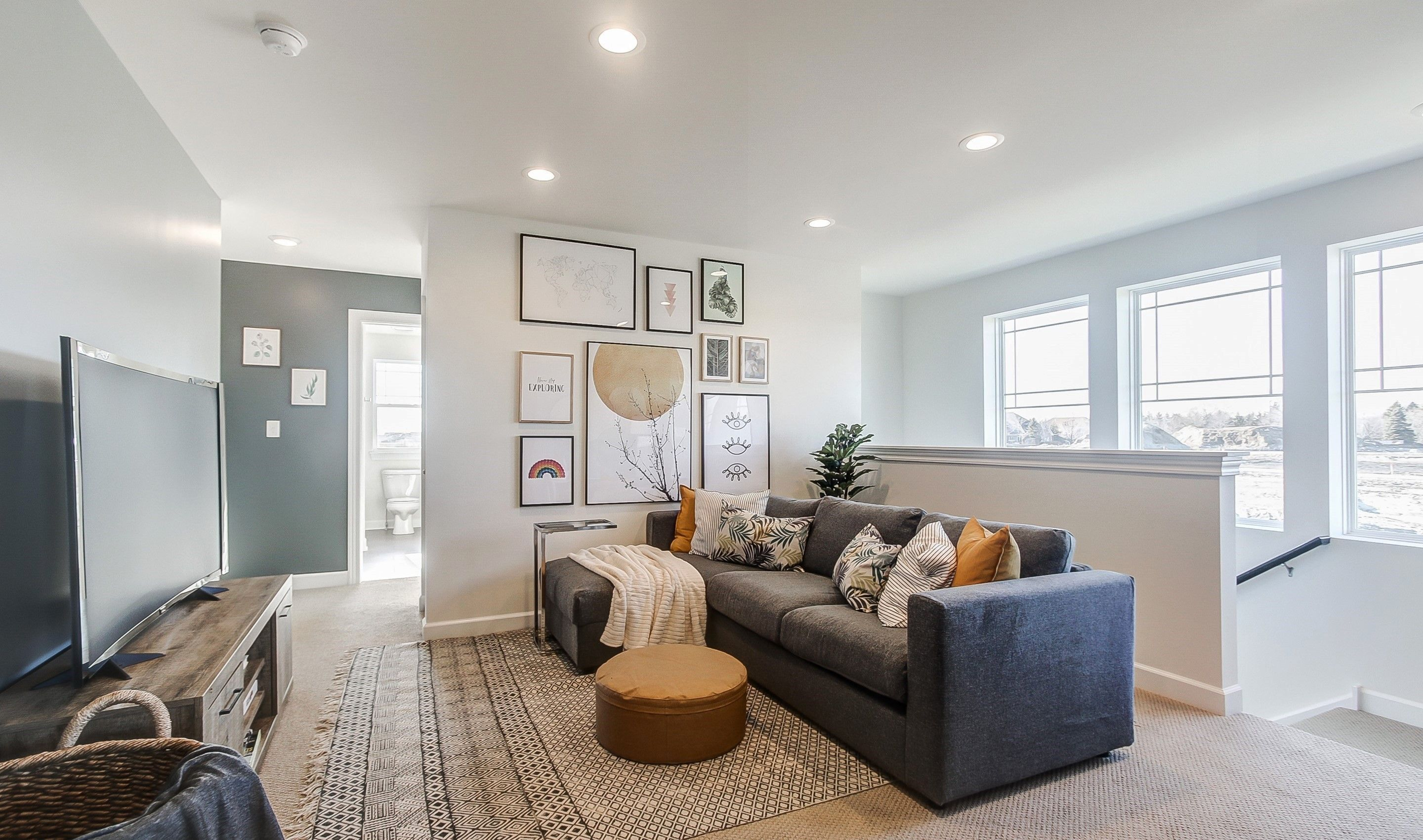 Living Area featured in the Henley II By K. Hovnanian® Homes in Chicago, IL