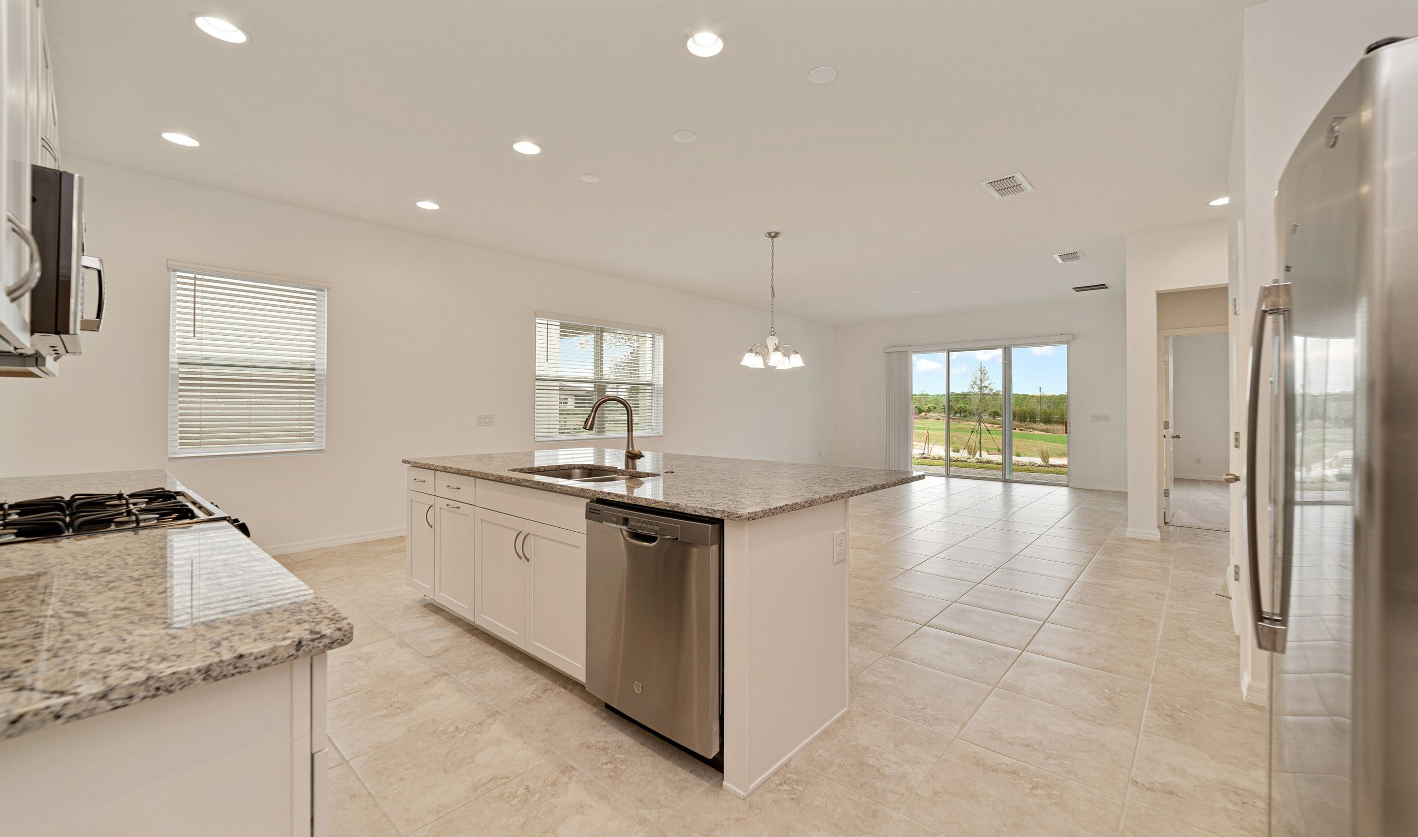 Kitchen featured in the Sandpiper By K. Hovnanian's® Four Seasons in Orlando, FL