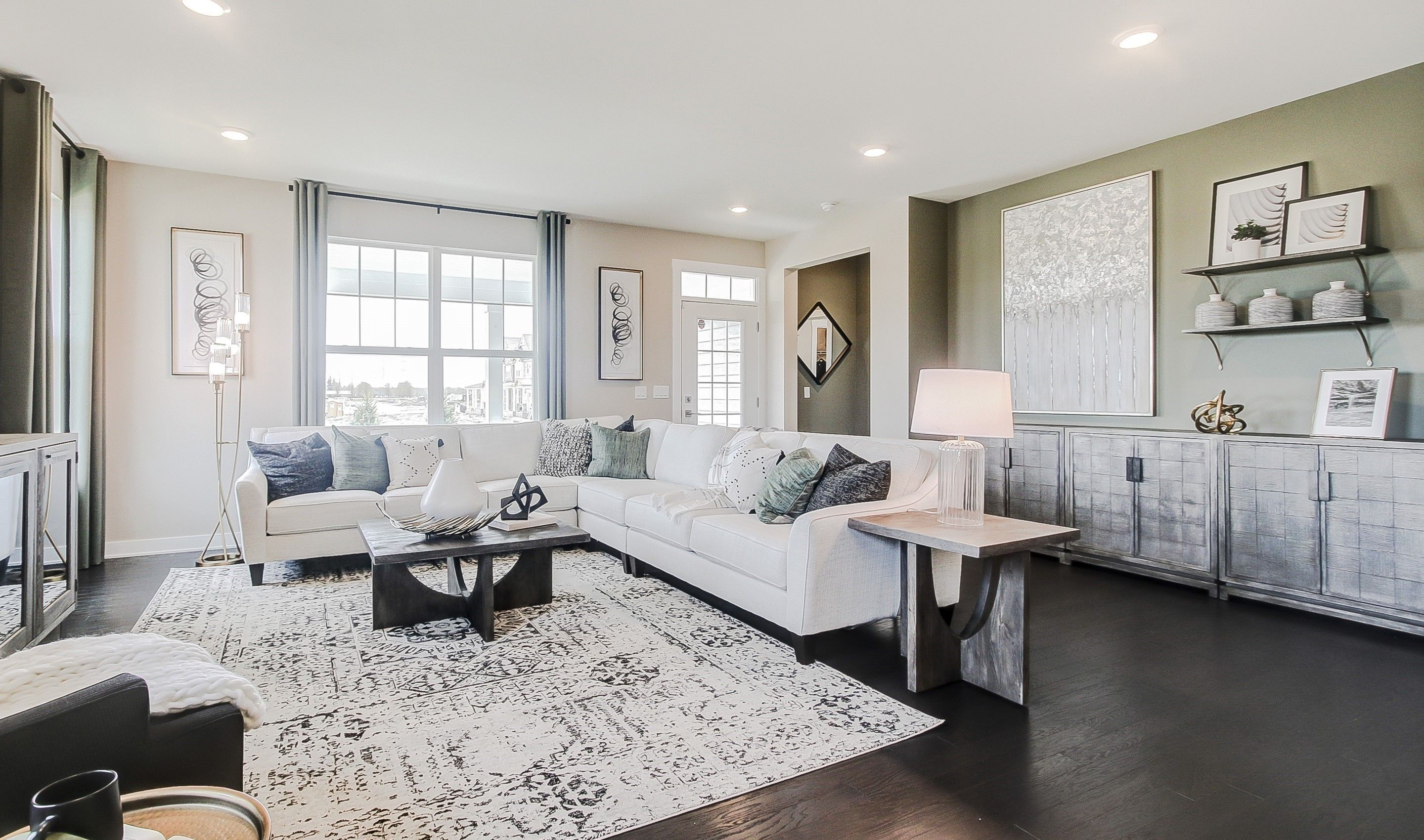 Living Area featured in the Mills By K. Hovnanian® Homes in Chicago, IL