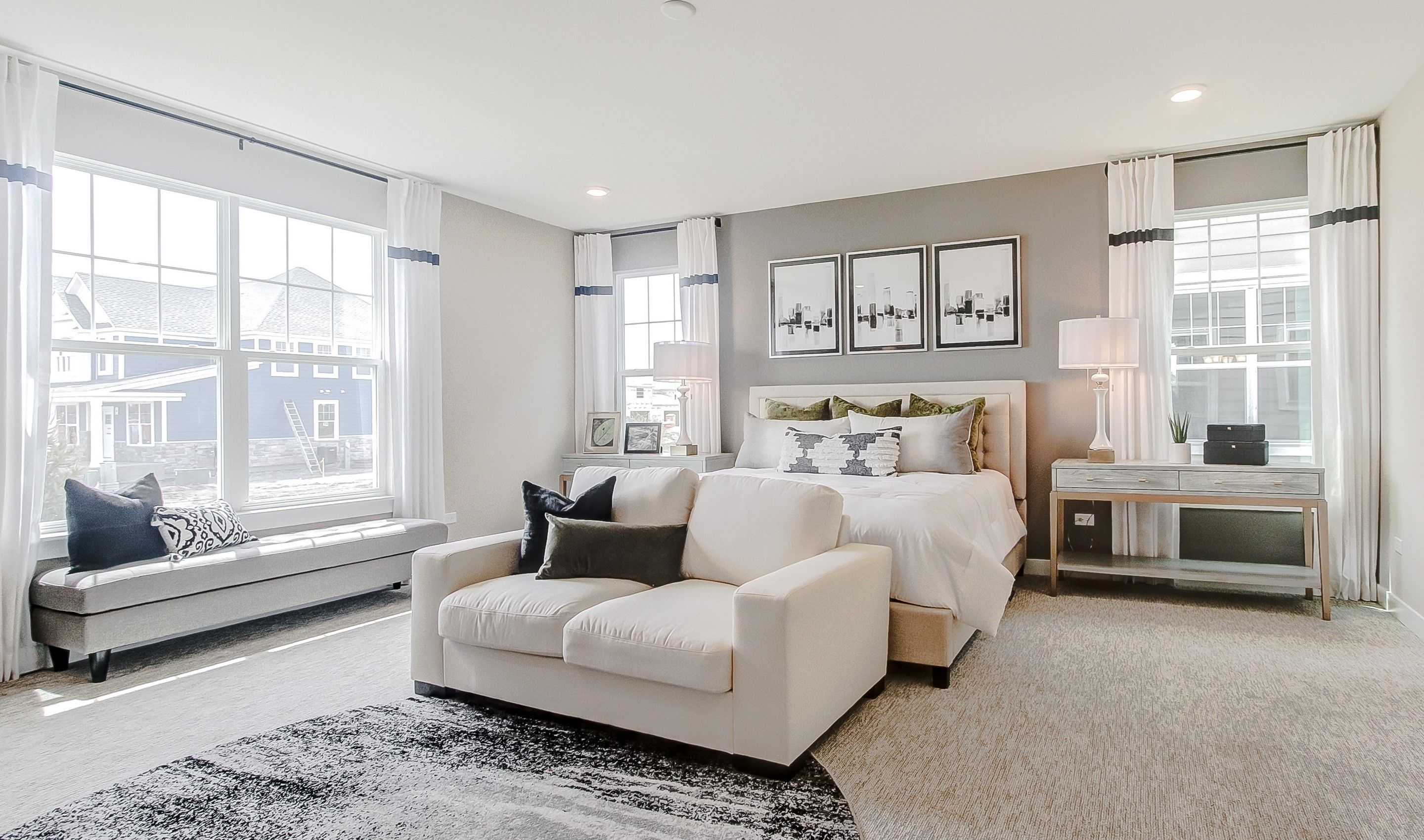 Bedroom featured in the Mills Loft By K. Hovnanian® Homes in Chicago, IL