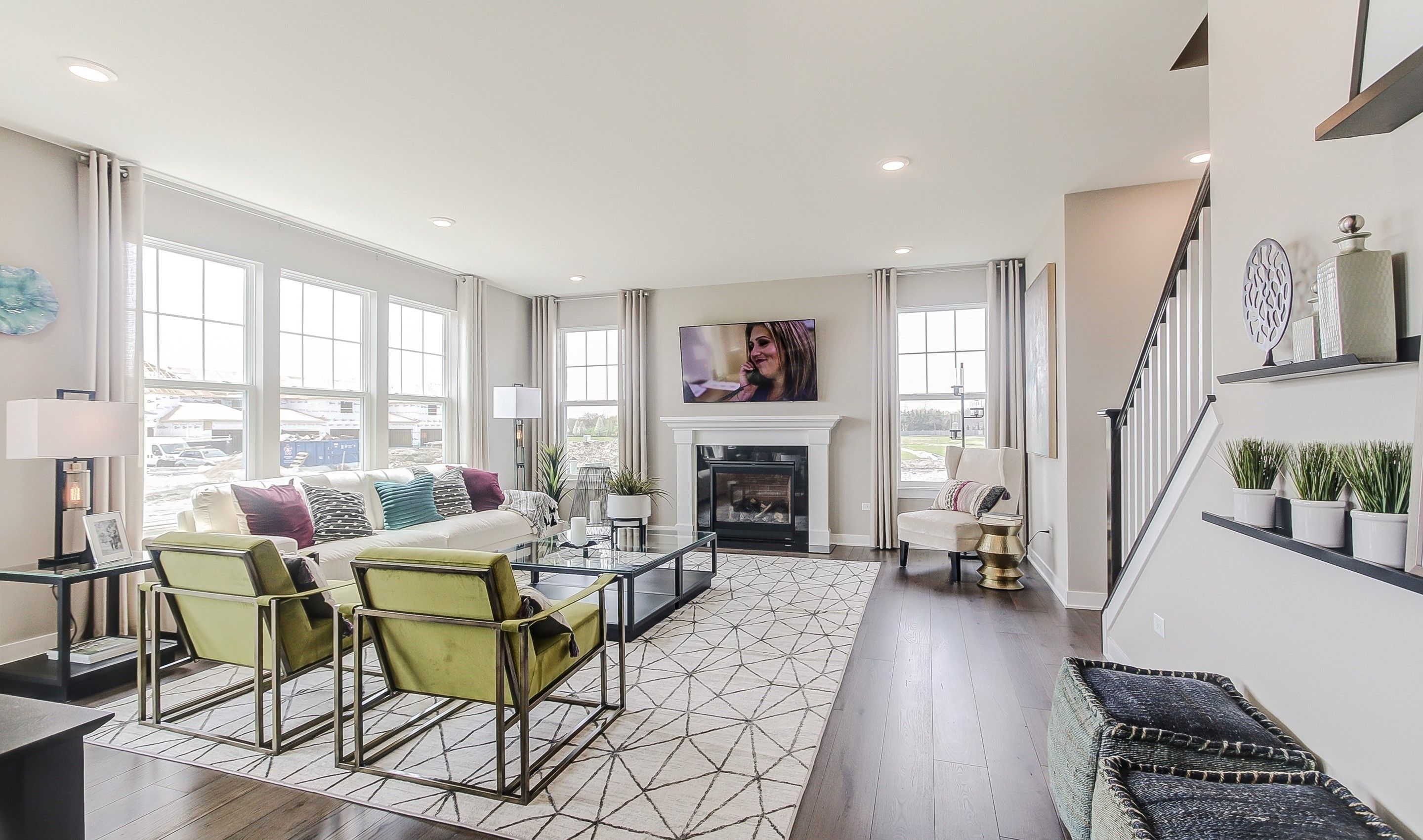 Living Area featured in the Manchester By K. Hovnanian® Homes in Chicago, IL