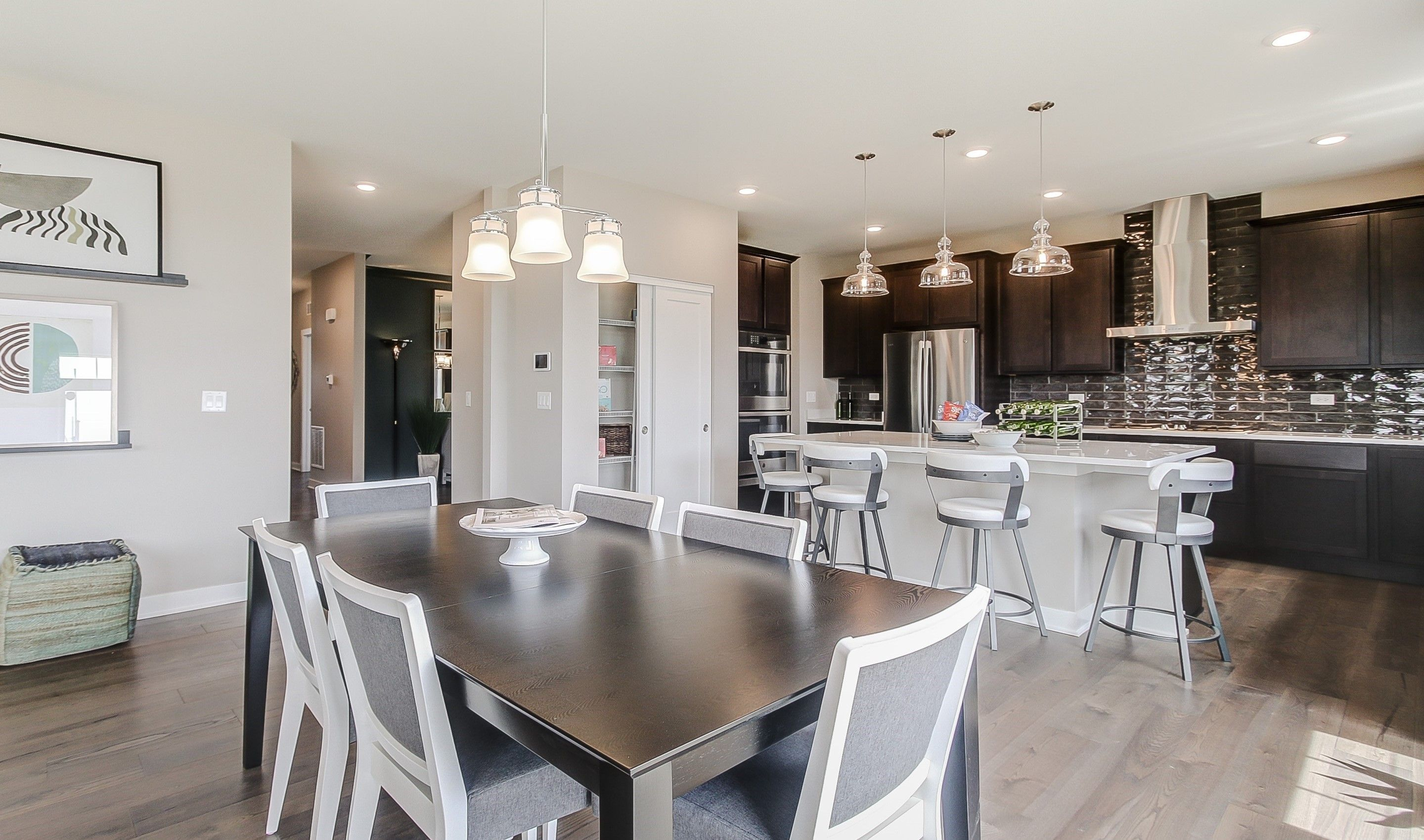 Kitchen featured in the Manchester By K. Hovnanian® Homes in Chicago, IL