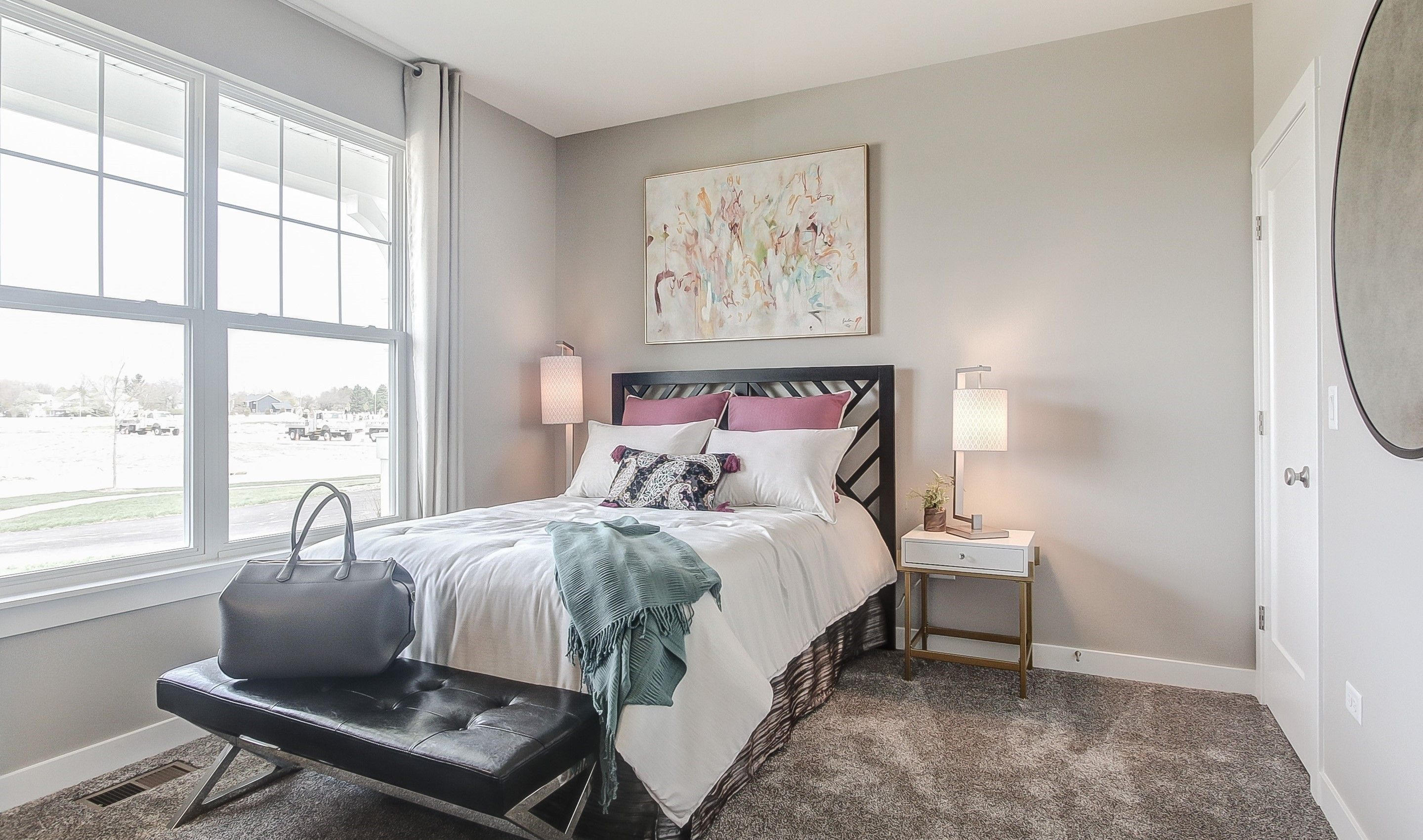 Bedroom featured in the Manchester By K. Hovnanian® Homes in Chicago, IL