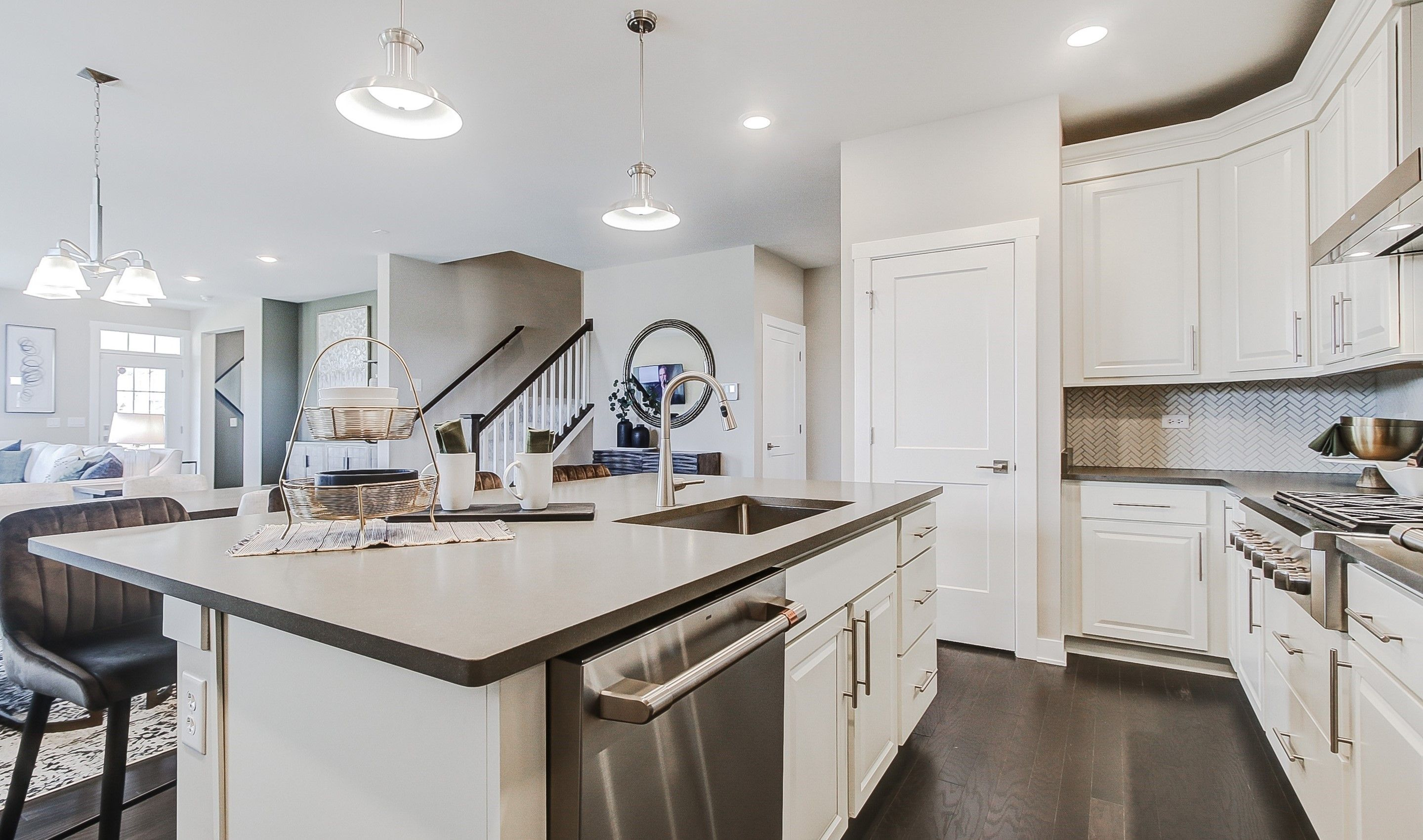 Kitchen featured in the Mills By K. Hovnanian® Homes in Chicago, IL