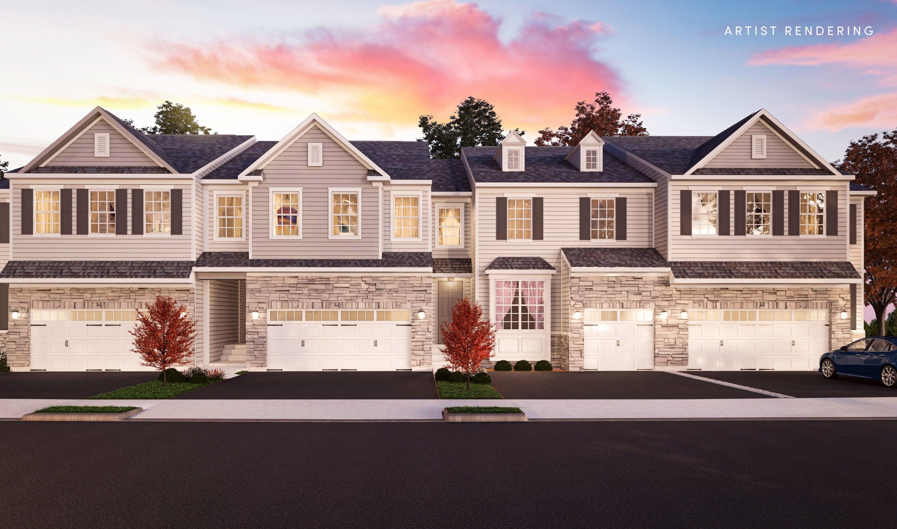 Exterior featured in the Bryn Mawr By K. Hovnanian® Homes in Middlesex County, NJ