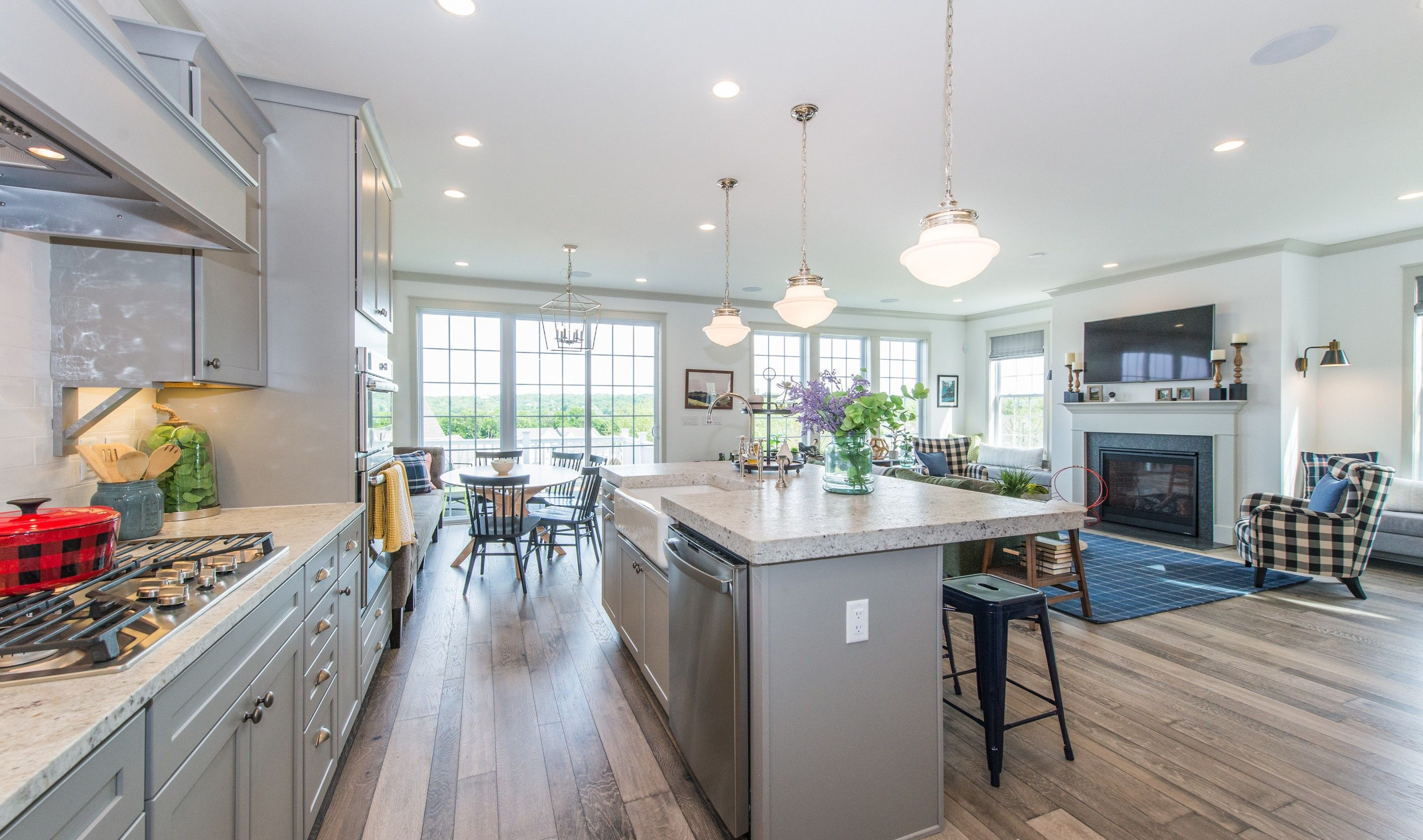 Kitchen featured in the Claremont By K. Hovnanian® Homes in Essex County, NJ