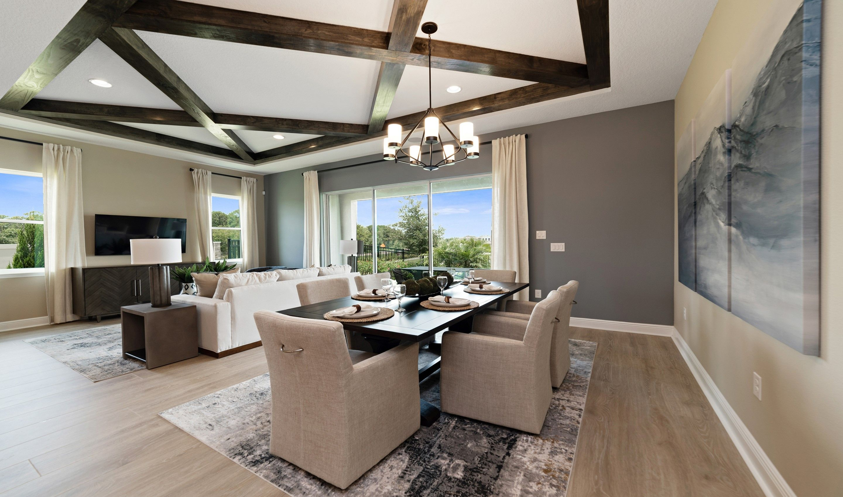 Living Area featured in the Tobago By K. Hovnanian's® Four Seasons in Orlando, FL