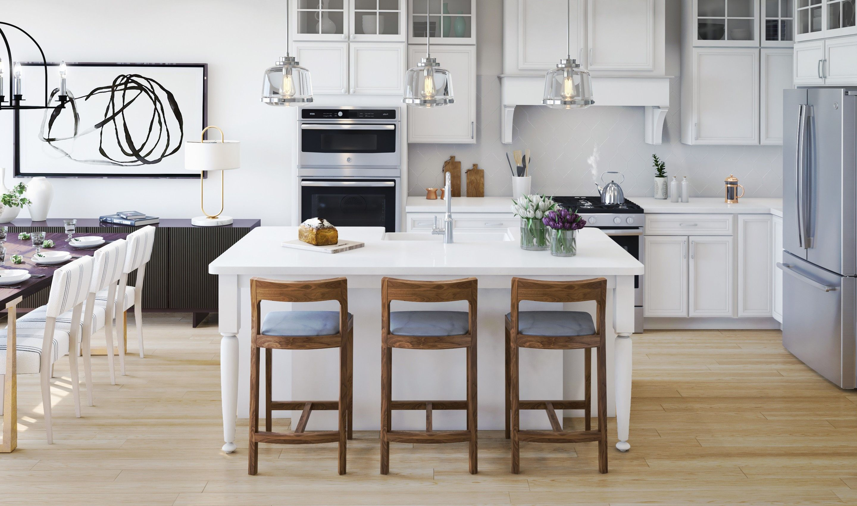 Kitchen featured in the Bryn Mawr By K. Hovnanian® Homes in Middlesex County, NJ