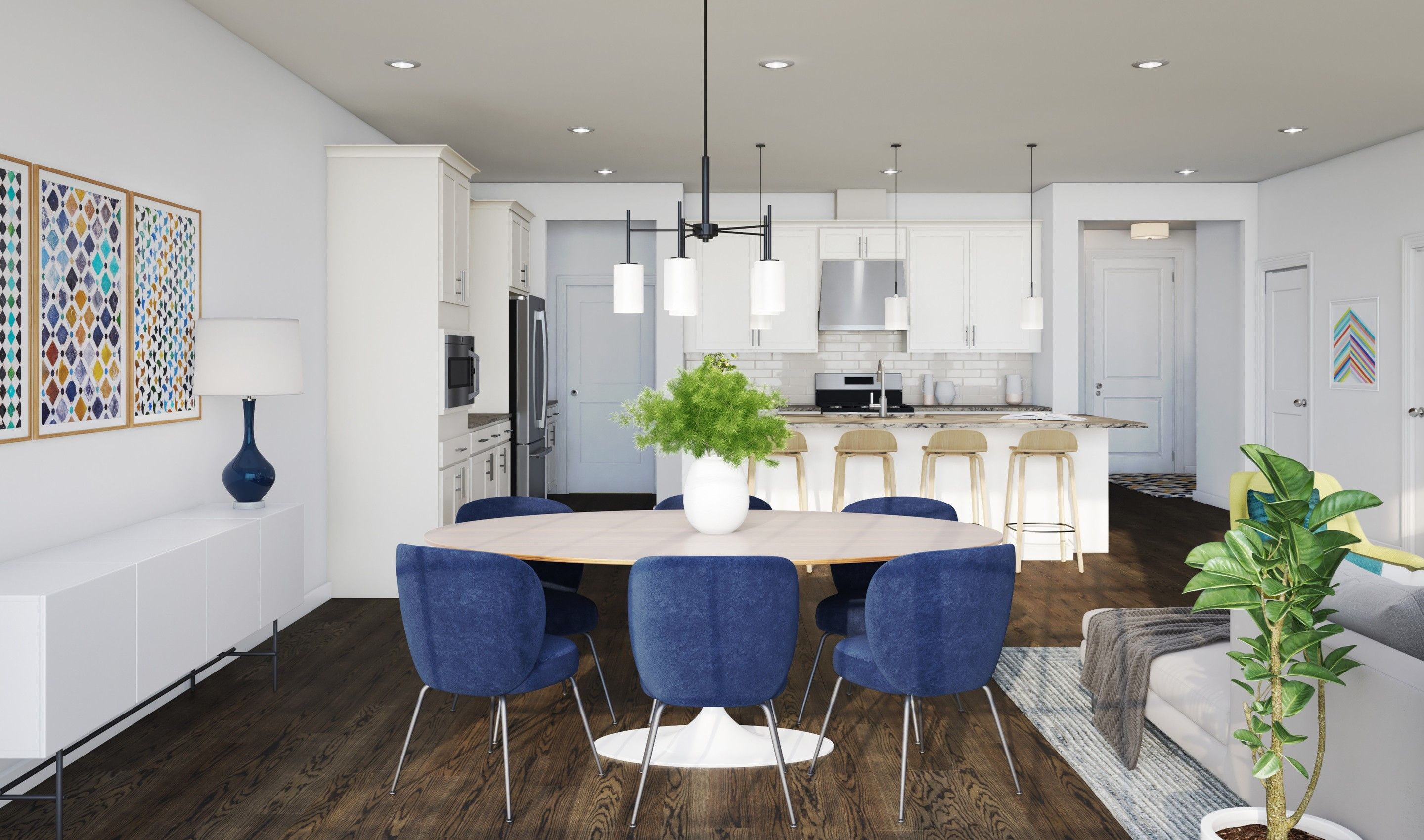 Kitchen featured in the Davidson By K. Hovnanian® Homes in Middlesex County, NJ
