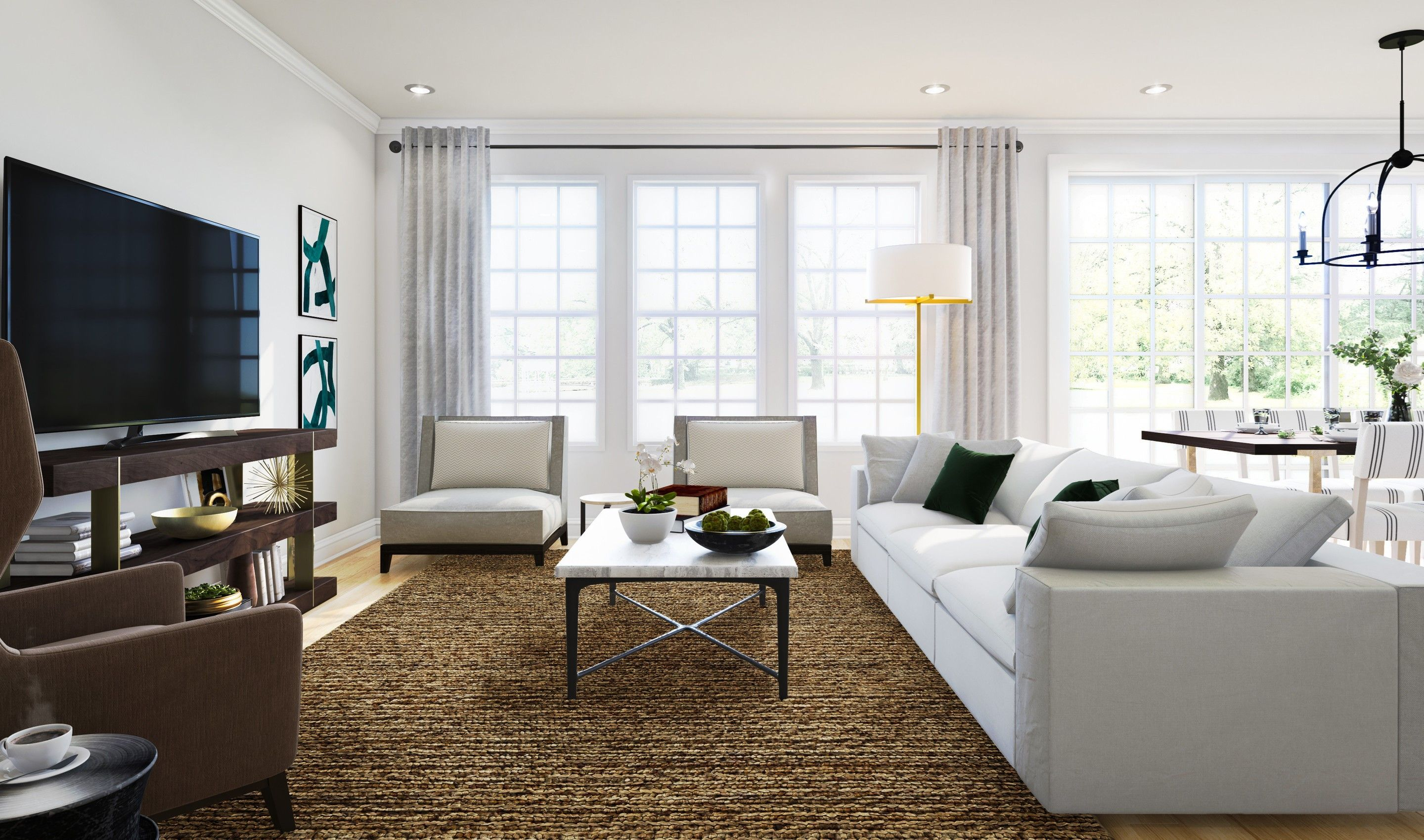 Living Area featured in the Bryn Mawr By K. Hovnanian® Homes in Middlesex County, NJ