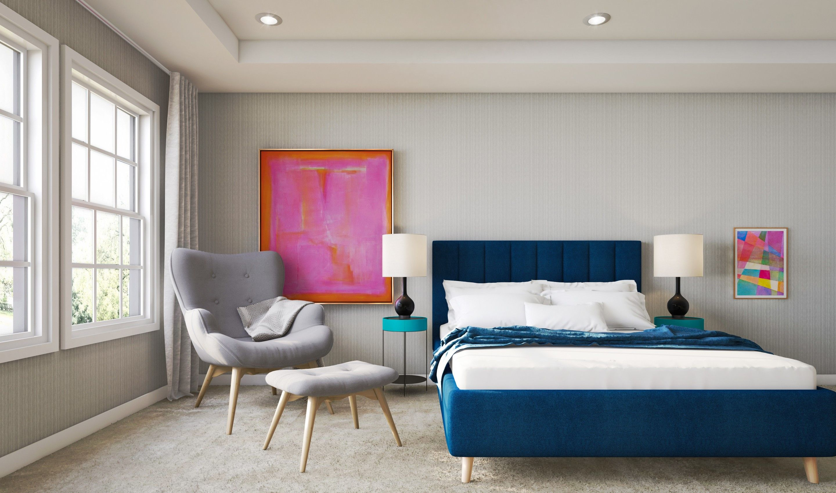 Bedroom featured in the Davidson By K. Hovnanian® Homes in Middlesex County, NJ