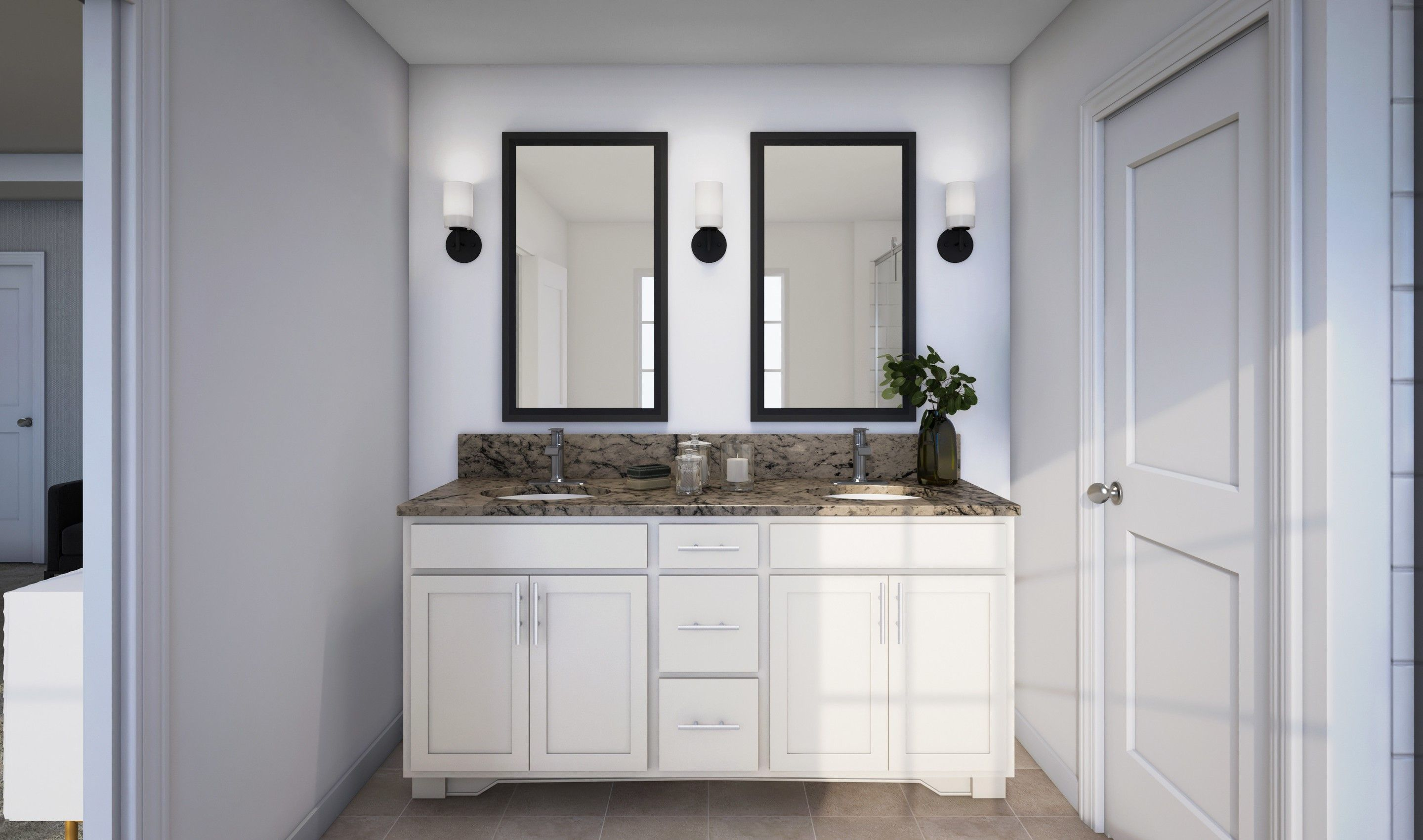 Bathroom featured in the Claremont II By K. Hovnanian® Homes in Middlesex County, NJ