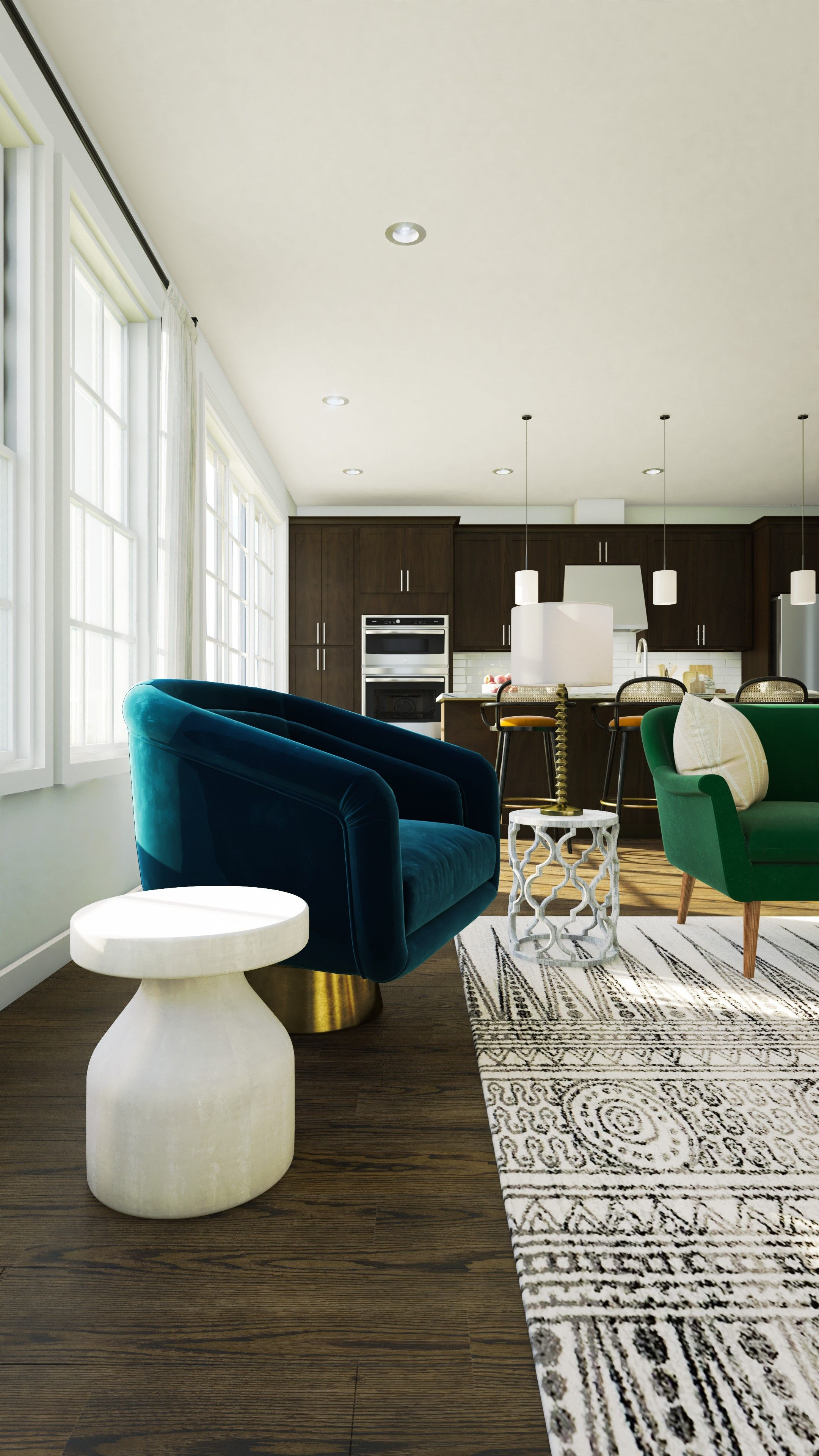 Living Area featured in the Claremont II By K. Hovnanian® Homes in Middlesex County, NJ
