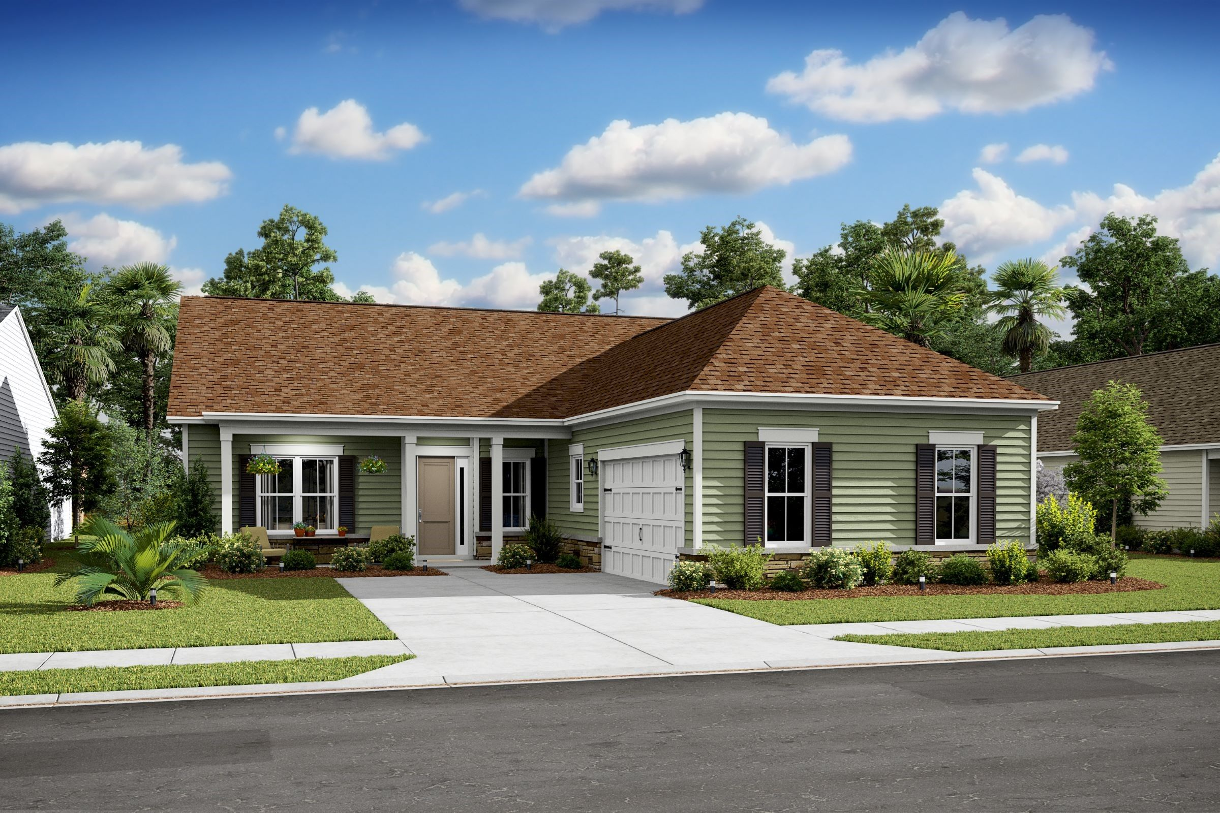 Exterior featured in the Ravenna By K. Hovnanian's® Four Seasons in Hilton Head, SC