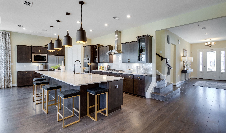 Kitchen featured in the San Sebastian Loft By K. Hovnanian's® Four Seasons in Eastern Shore, MD