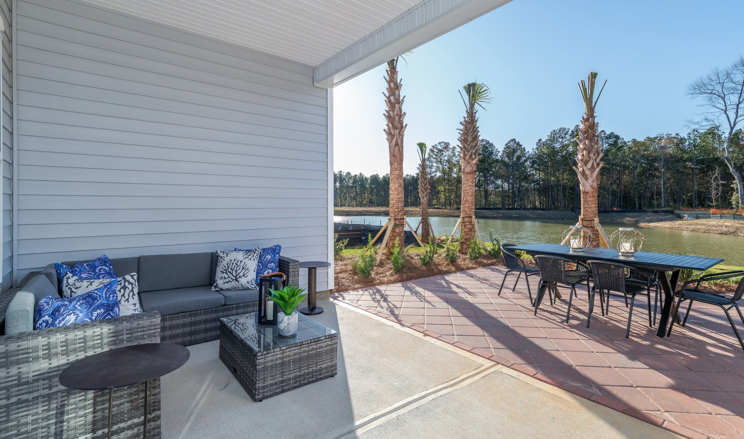 Exterior featured in the Porto By K. Hovnanian's® Four Seasons in Hilton Head, SC