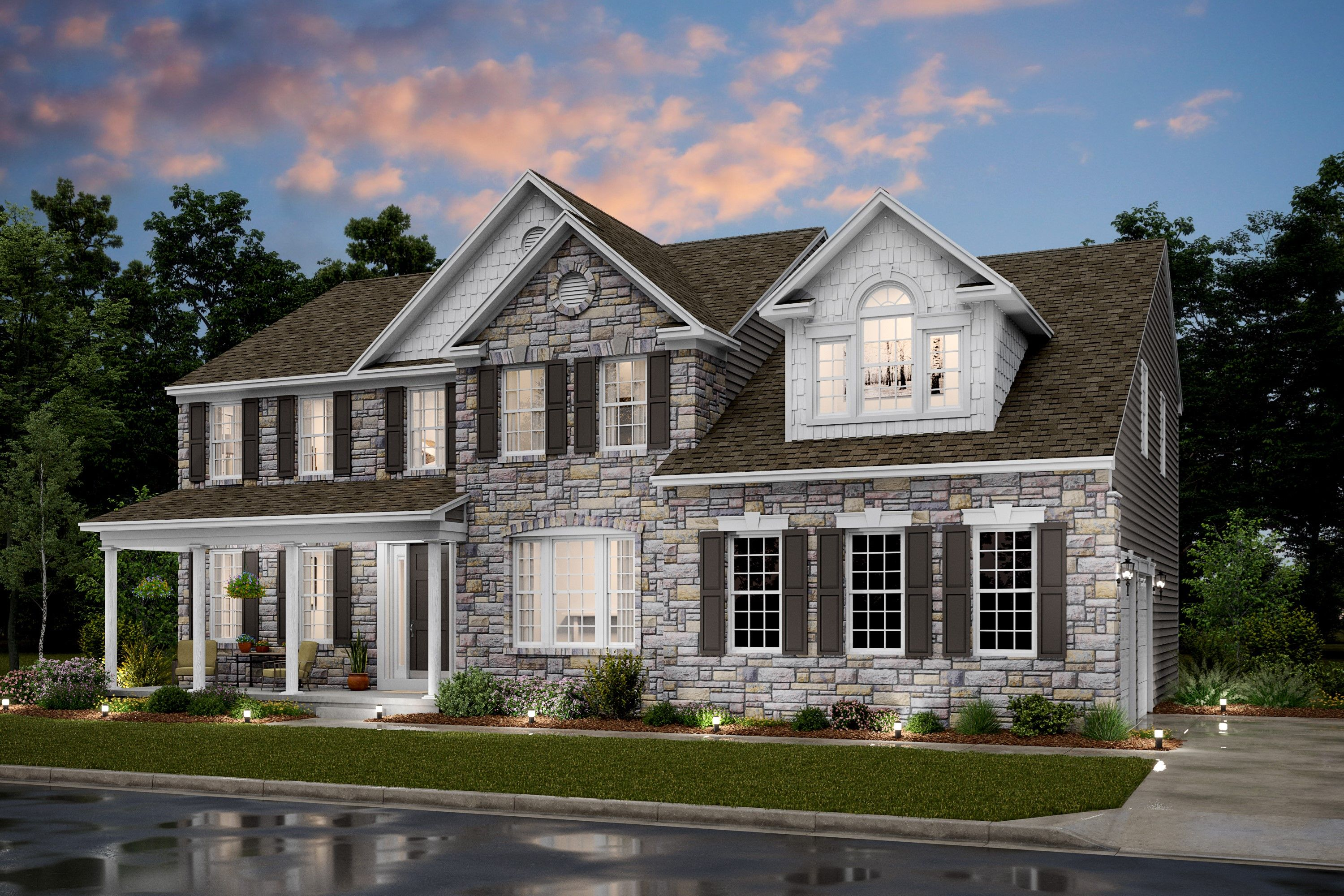 Exterior featured in the Colorado II By K. Hovnanian® Homes in Dover, DE