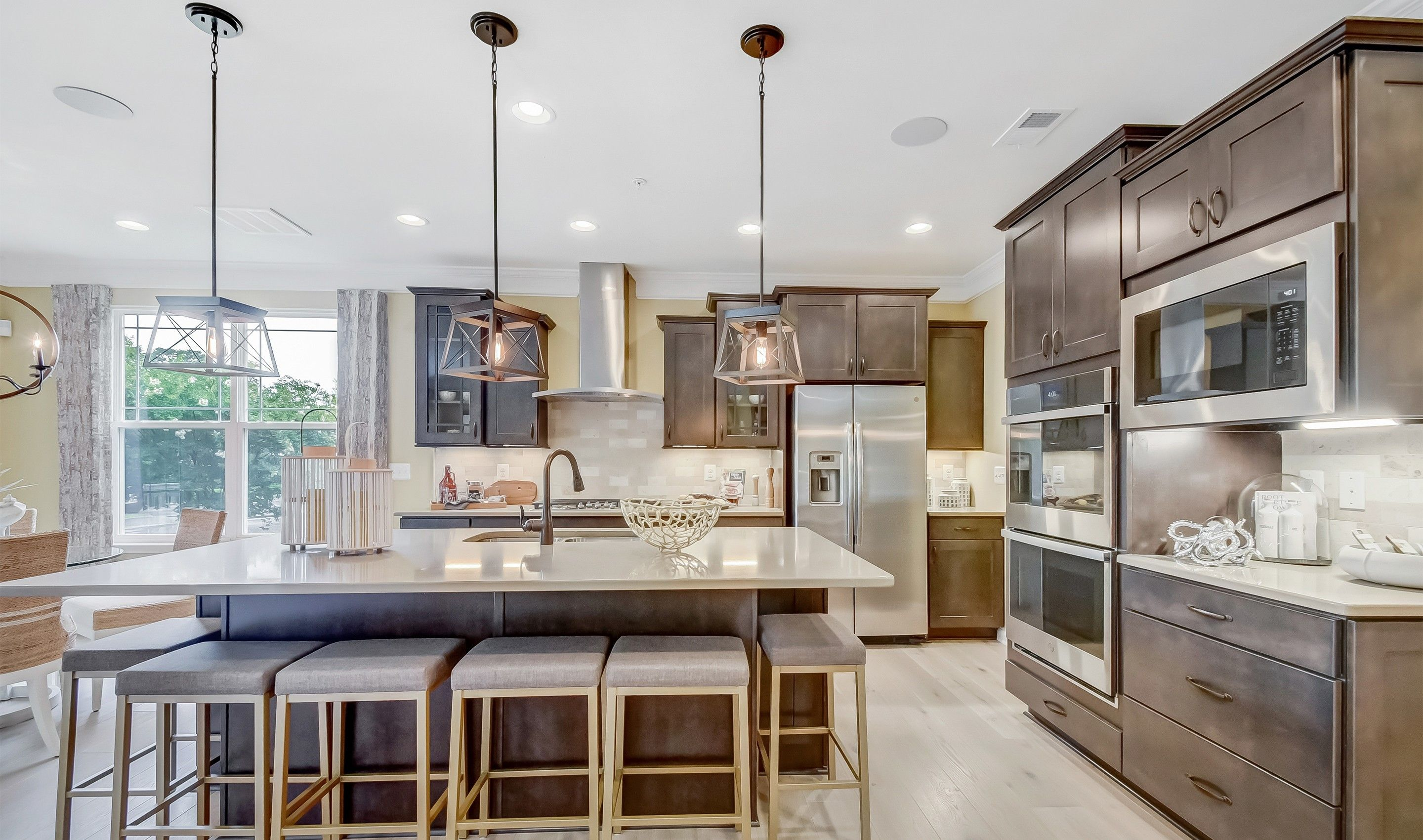 Kitchen featured in the Baltimore By K. Hovnanian® Homes in Dover, DE